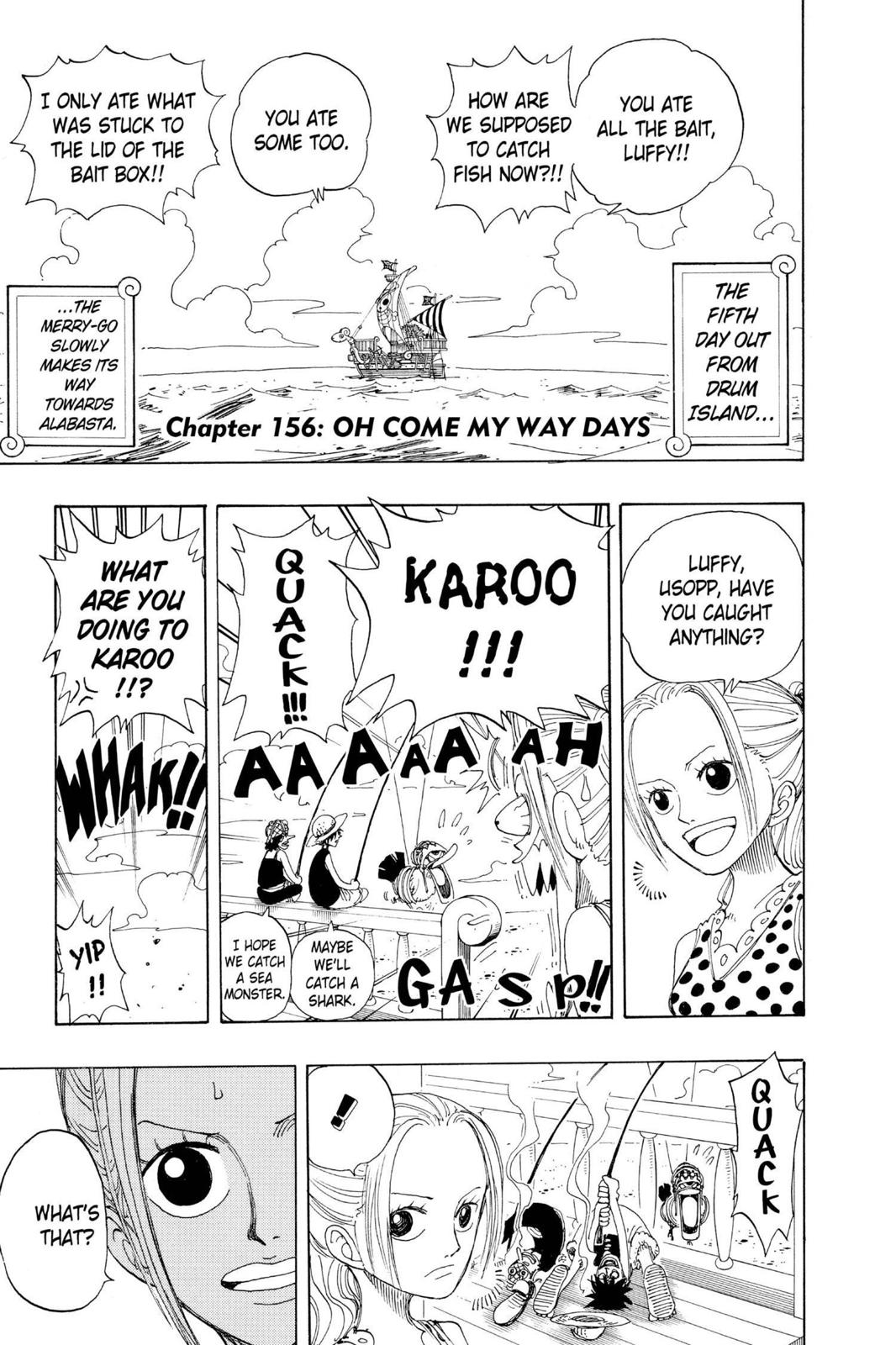 One Piece, Chapter 156 image 007
