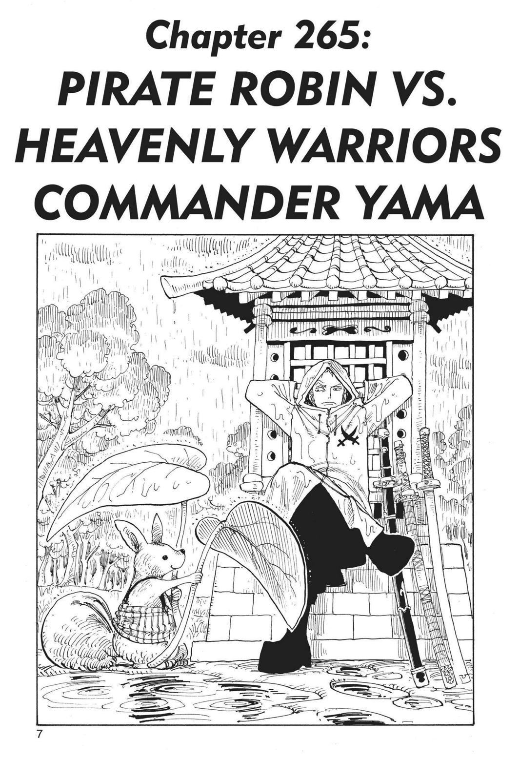 One Piece, Chapter 265 image 007