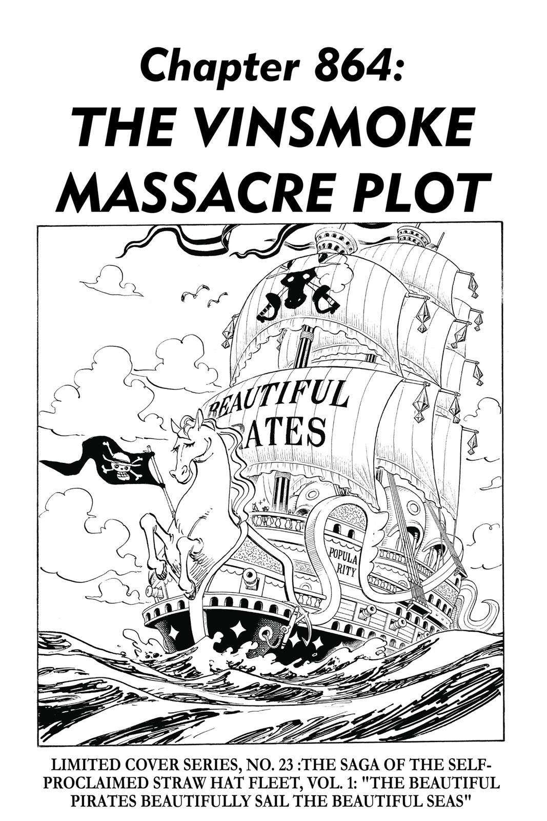 One Piece, Chapter 864 image 001