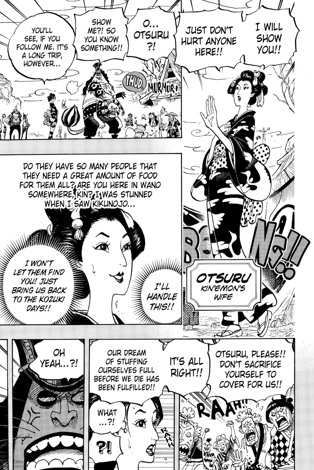 One Piece, Chapter 959 image 009