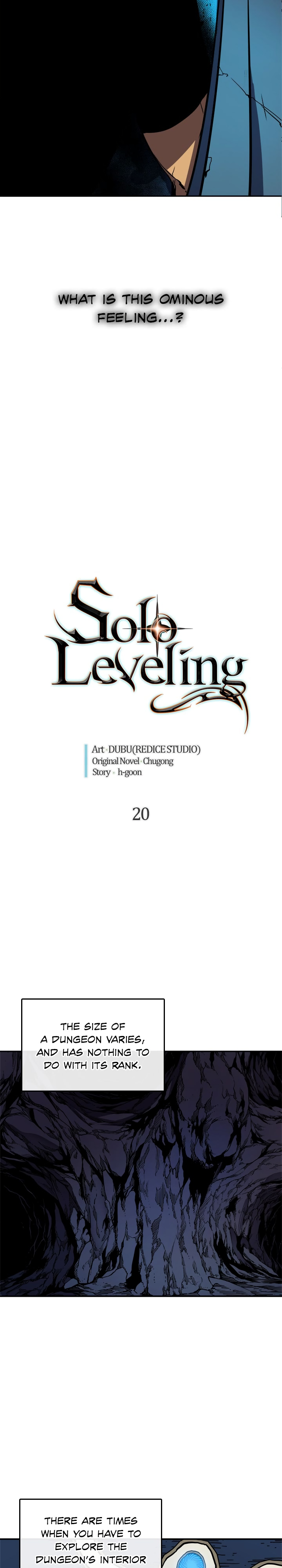 Solo Leveling, Chapter 20 image 002