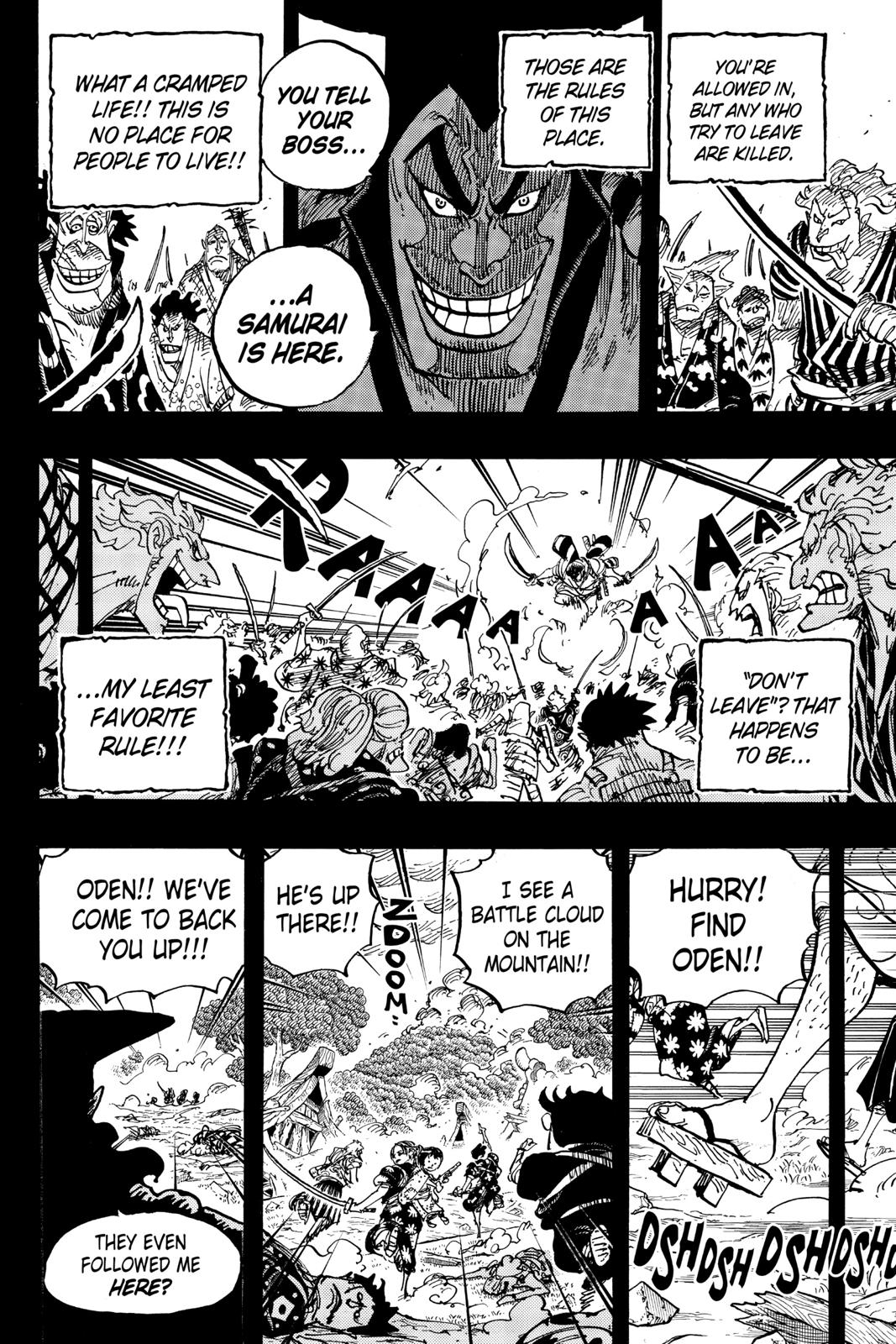 One Piece, Chapter 962 image 008