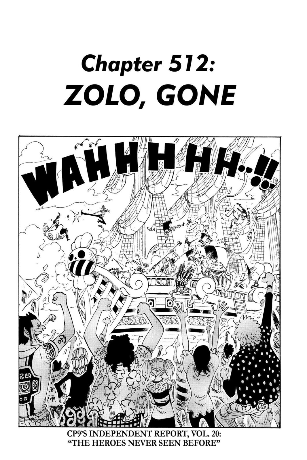 One Piece, Chapter 512 image 001
