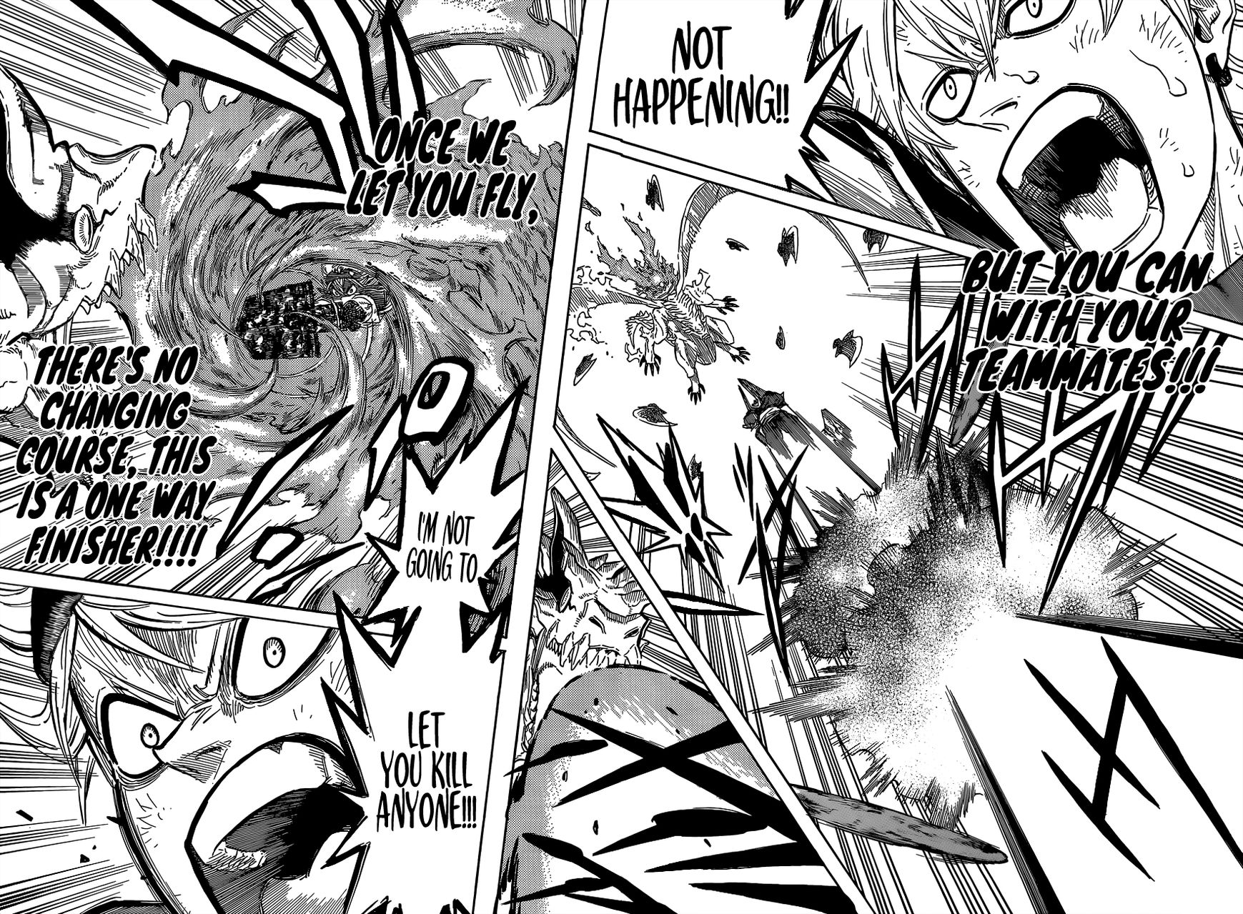 Black Clover, Chapter 88 Thrust of the Finisher image 008