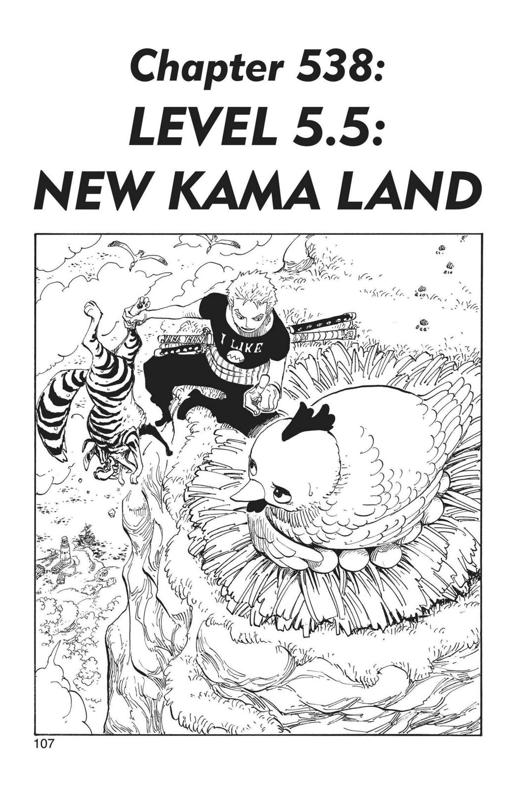 One Piece, Chapter 538 image 001