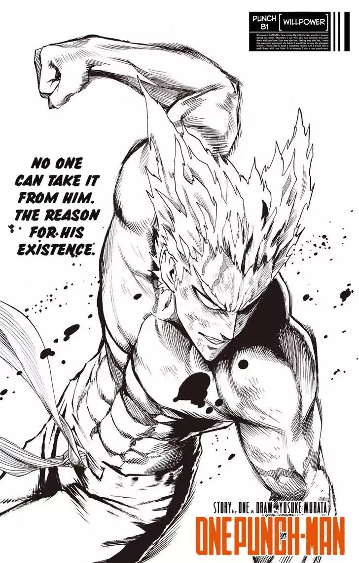 One Punch Man, Chapter Onepunch-Man 81 image 001