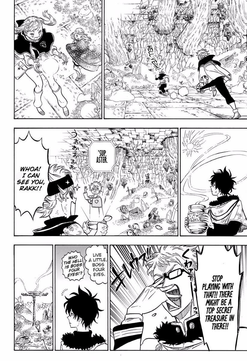 Black Clover, Chapter 18 In the Depths of The Treasure Room image 005