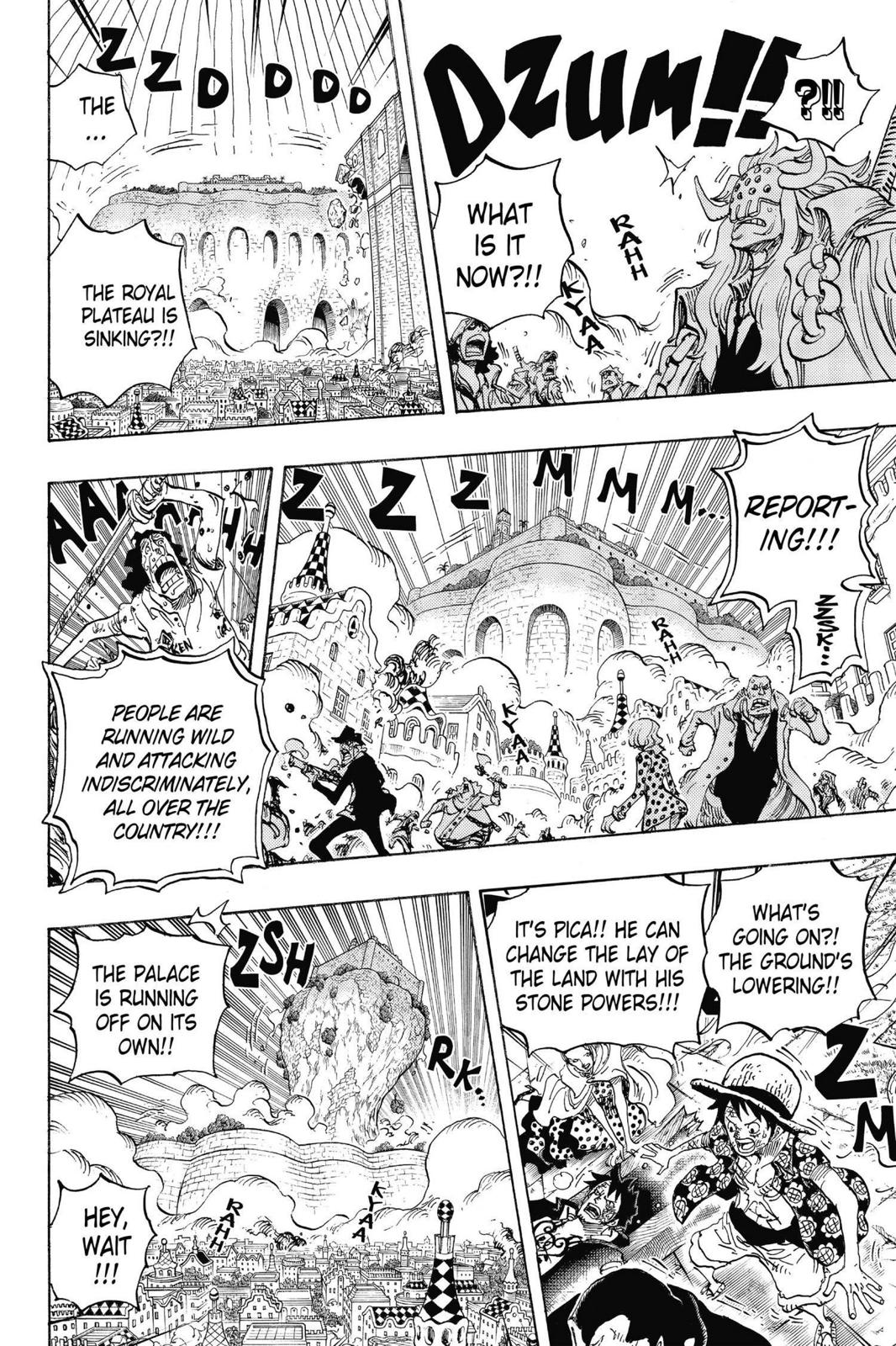 One Piece, Chapter 745 image 016