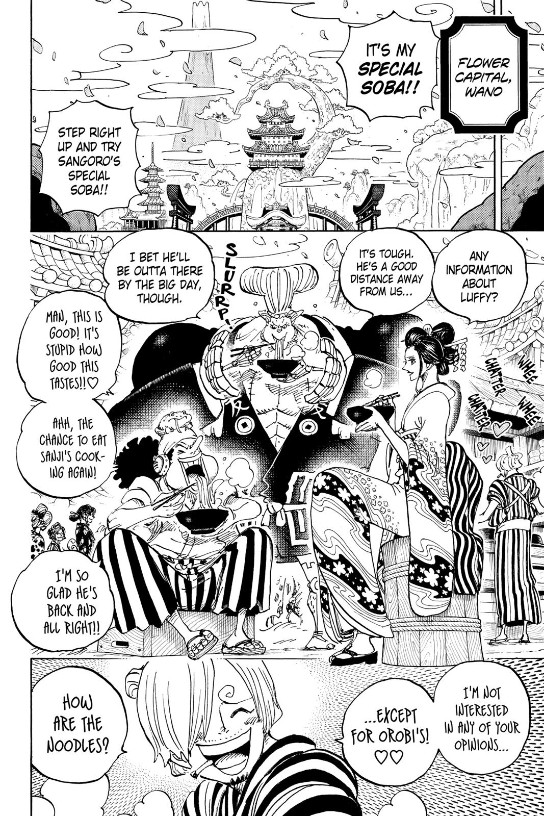 One Piece, Chapter 927 image 002