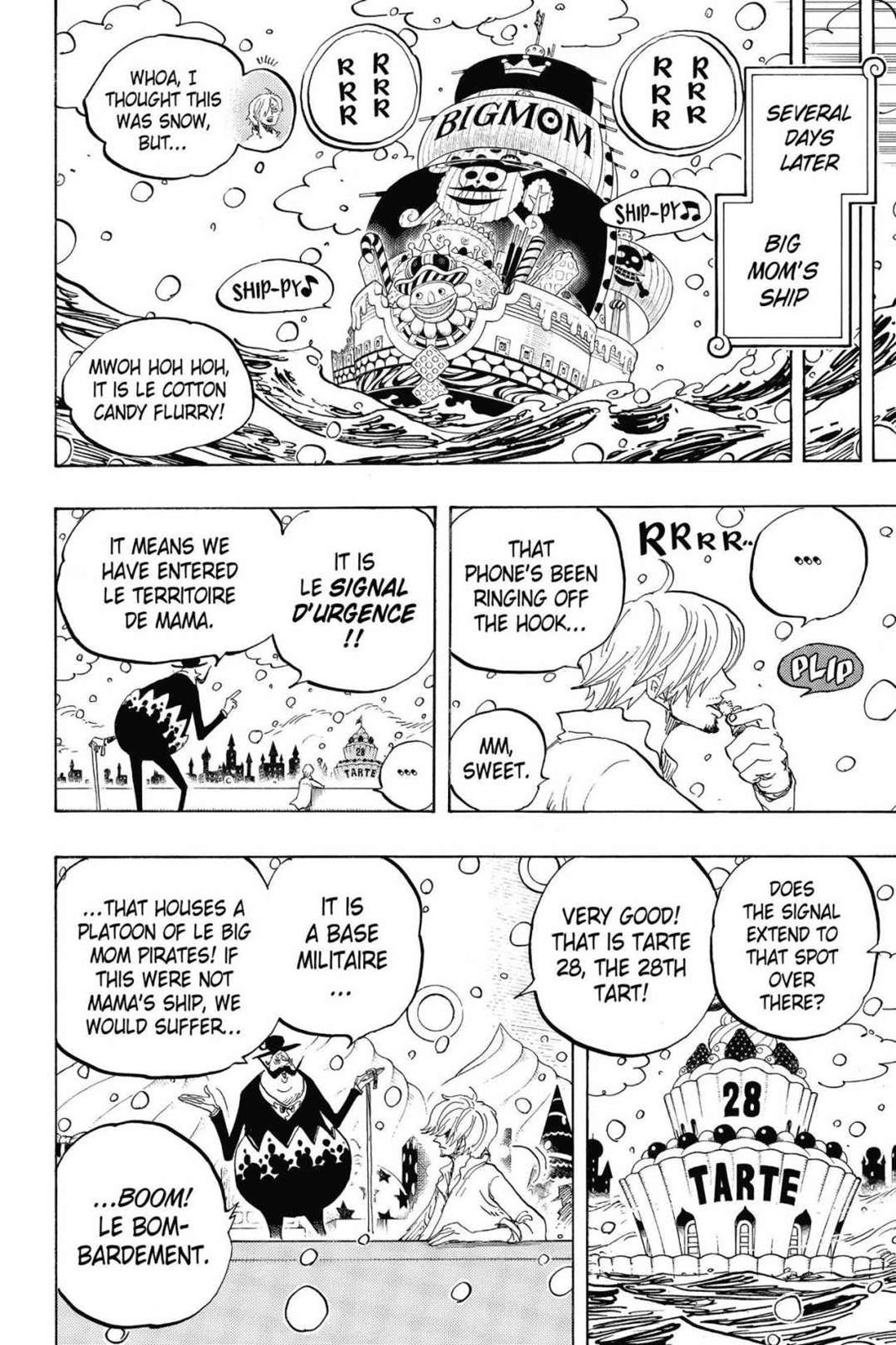 One Piece, Chapter 824 image 016