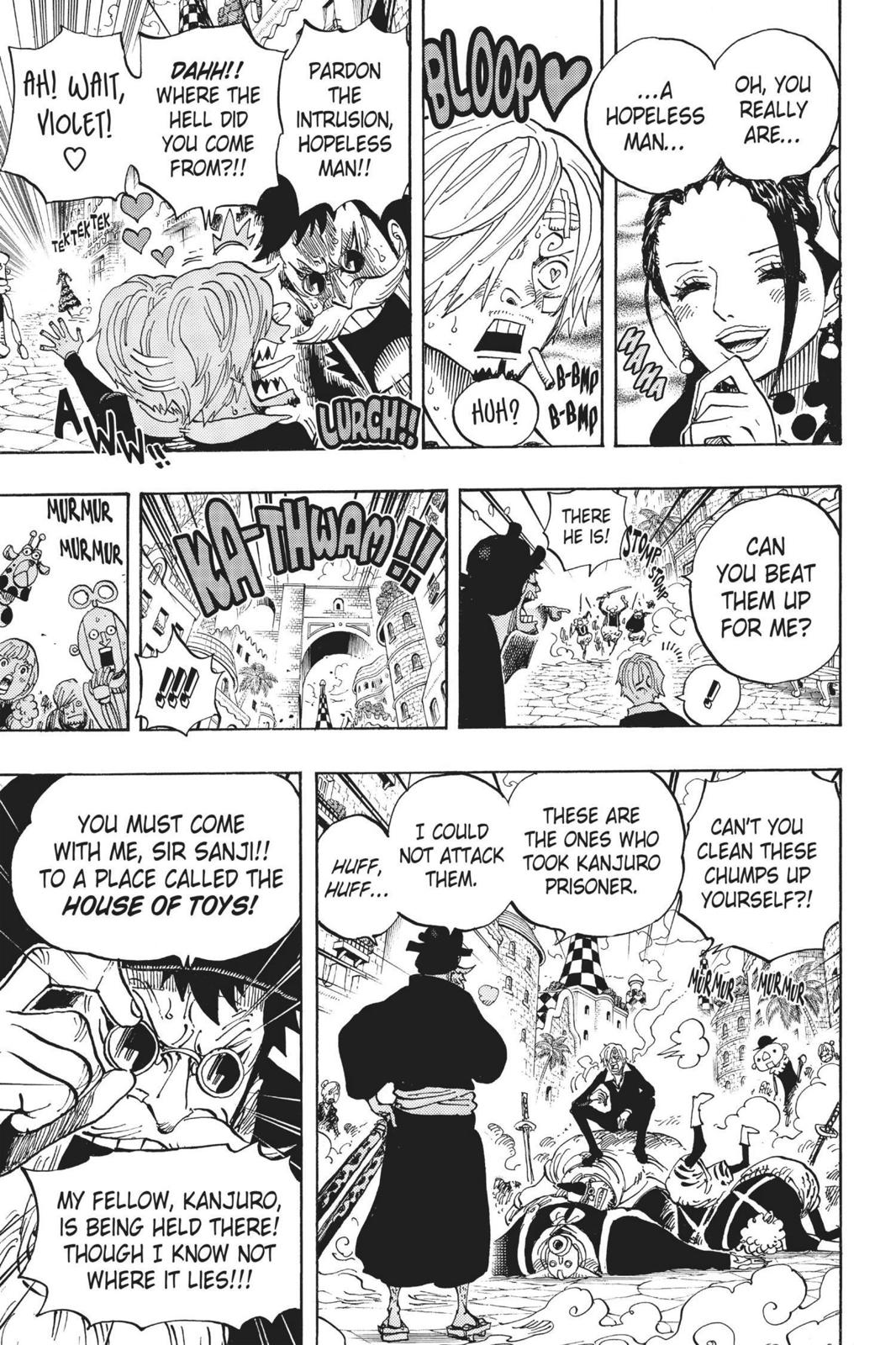 One Piece, Chapter 713 image 014