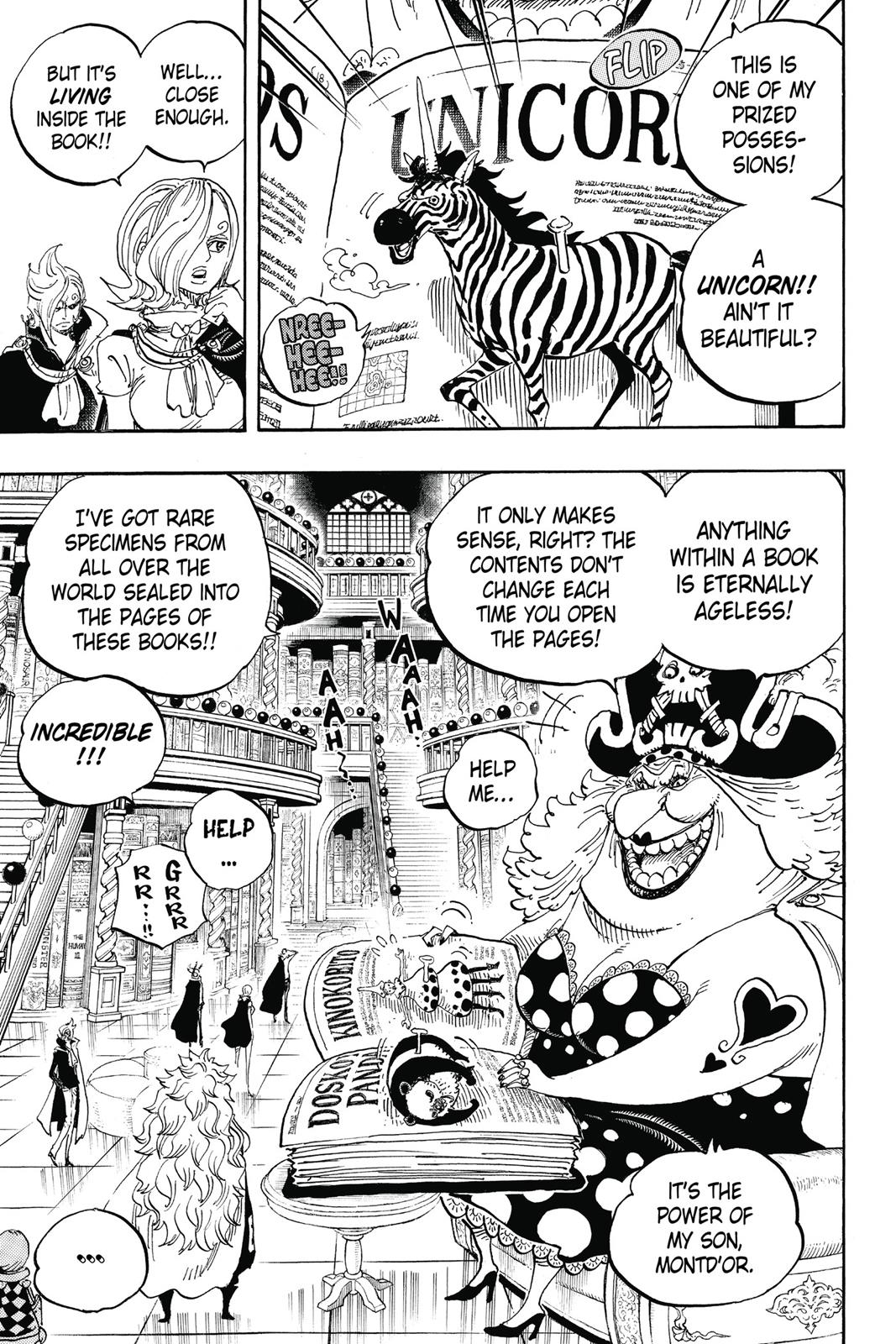 One Piece, Chapter 847 image 005
