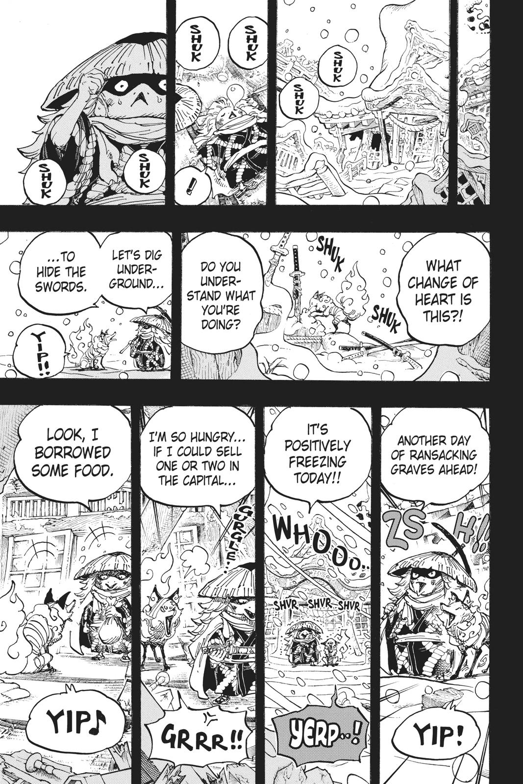 One Piece, Chapter 953 image 013