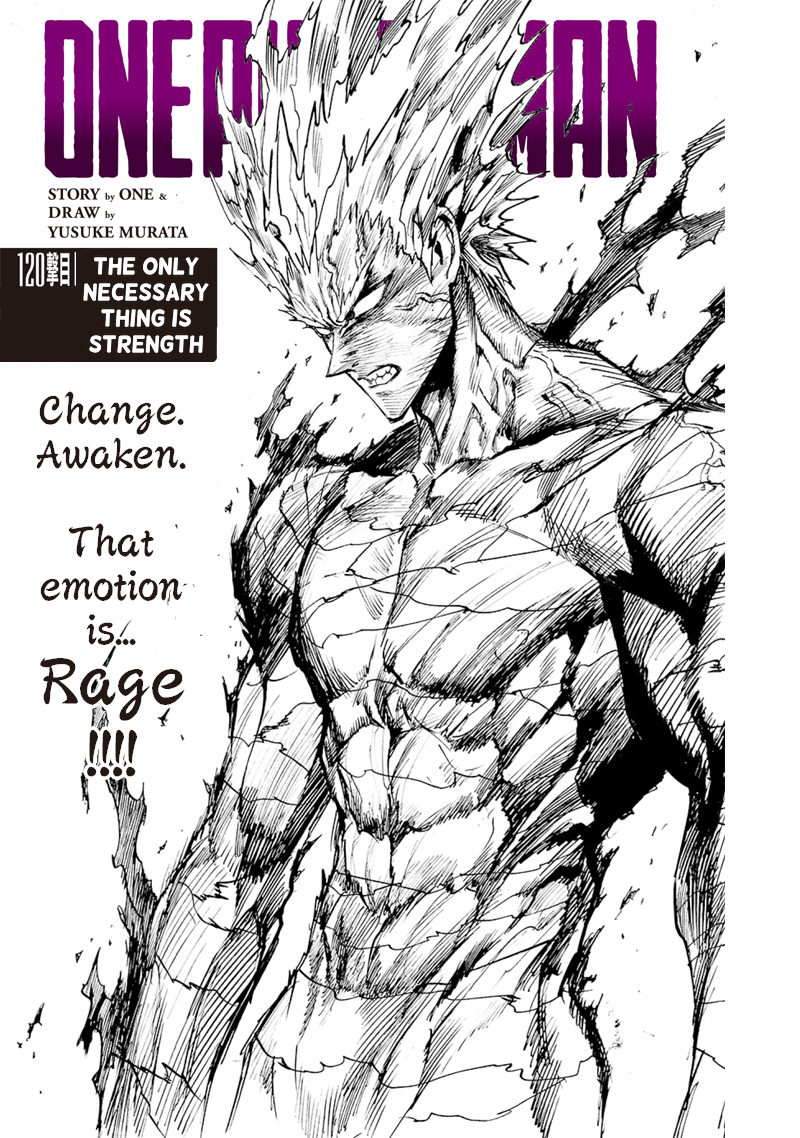 One Punch Man, Chapter One-Punch Man 120 image 001