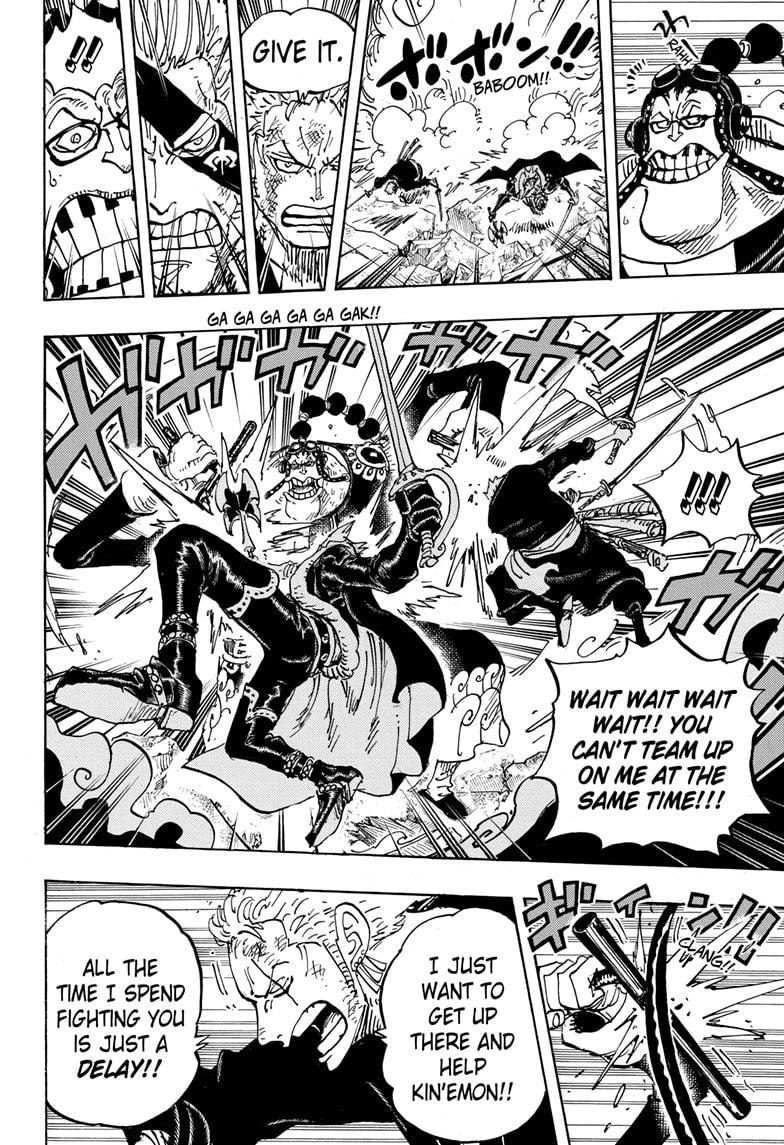 One Piece, Chapter 995 image 009