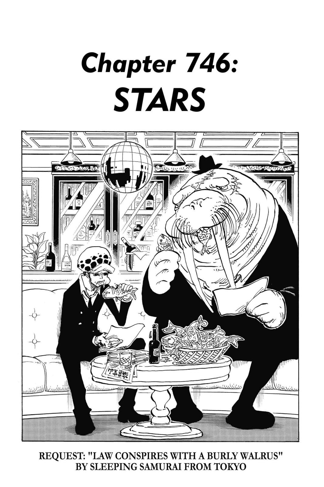 One Piece, Chapter 746 image 001