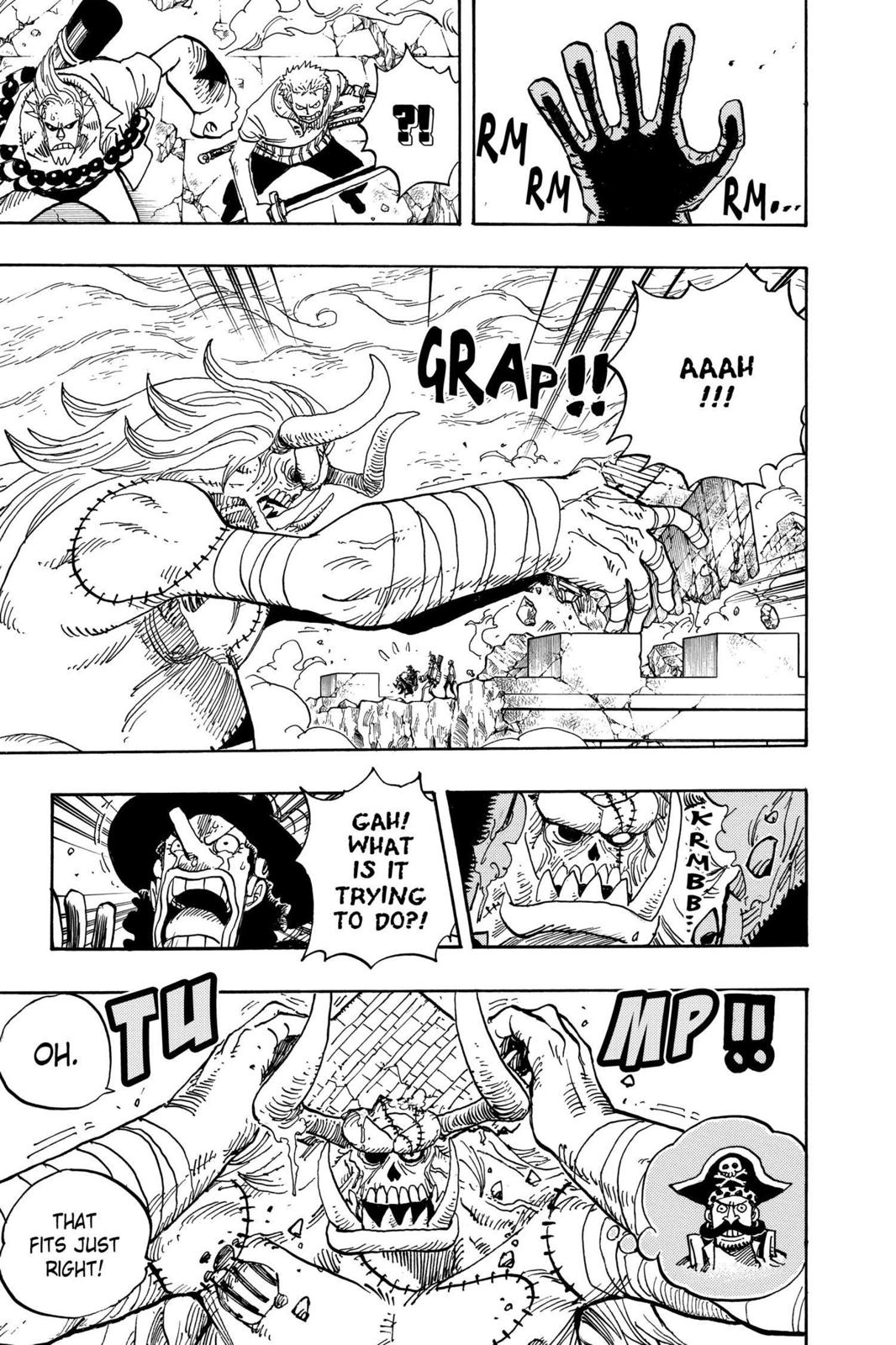 One Piece, Chapter 461 image 009