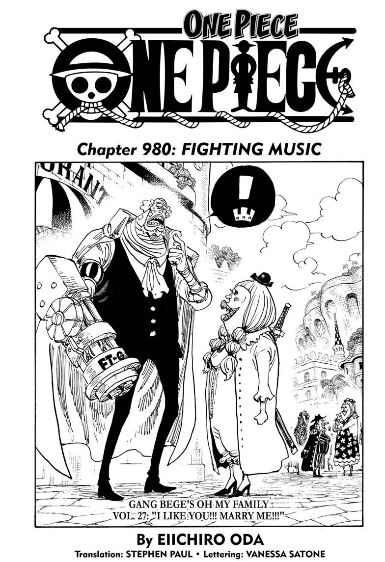 One Piece, Chapter 980 image 001