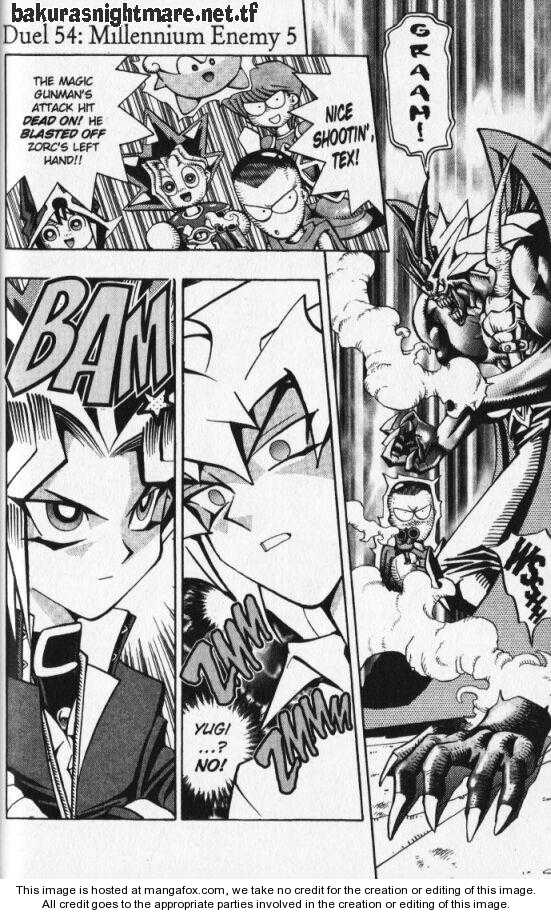 Yu Gi Oh, Chapter Vol.07 Ch.054 - Battle 54 Millennium Enemy 5 Stop the Run of Criticals image 001