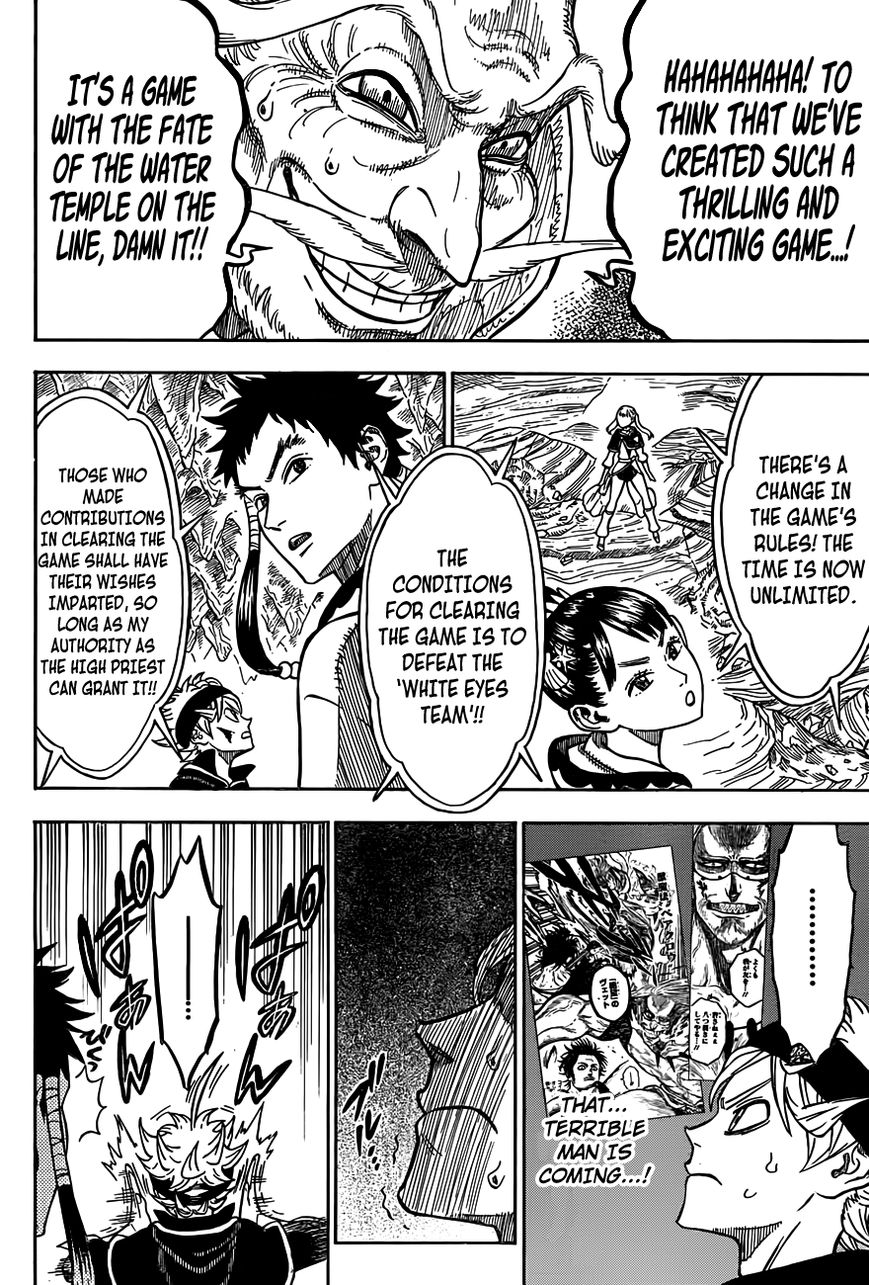 Black Clover, Chapter 63 A Game With Lives On The Line image 017