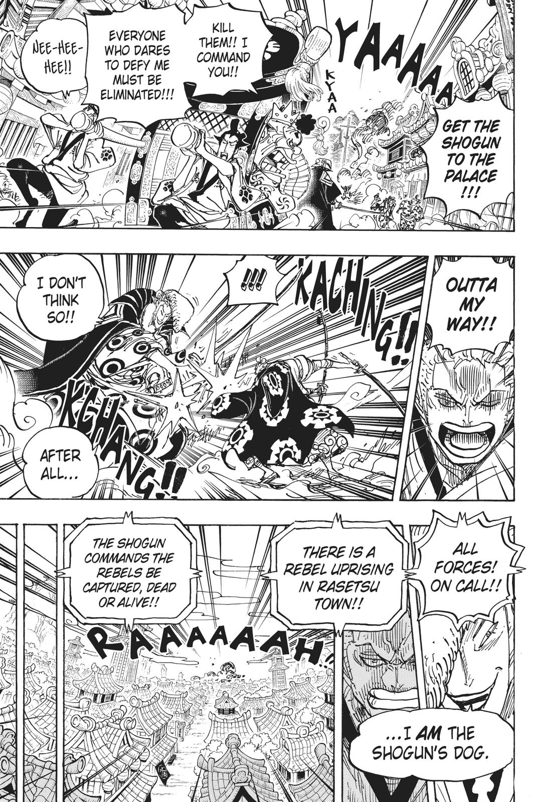 One Piece, Chapter 944 image 009