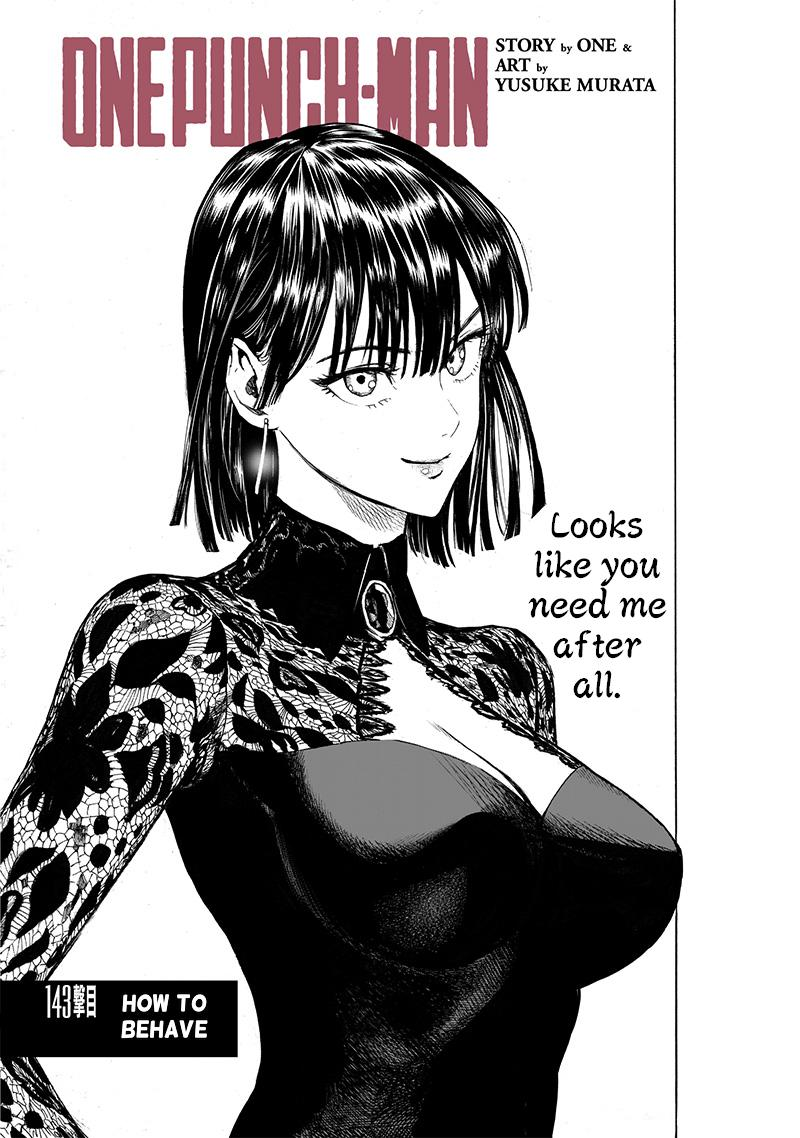 One Punch Man, Chapter One-Punch Man 143 image 001