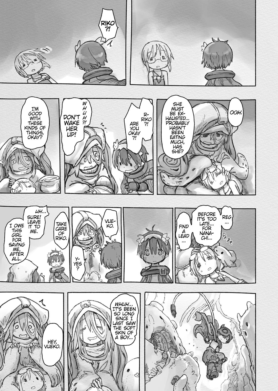 Made In Abyss, Chapter Hello,Abyss 47 image 009
