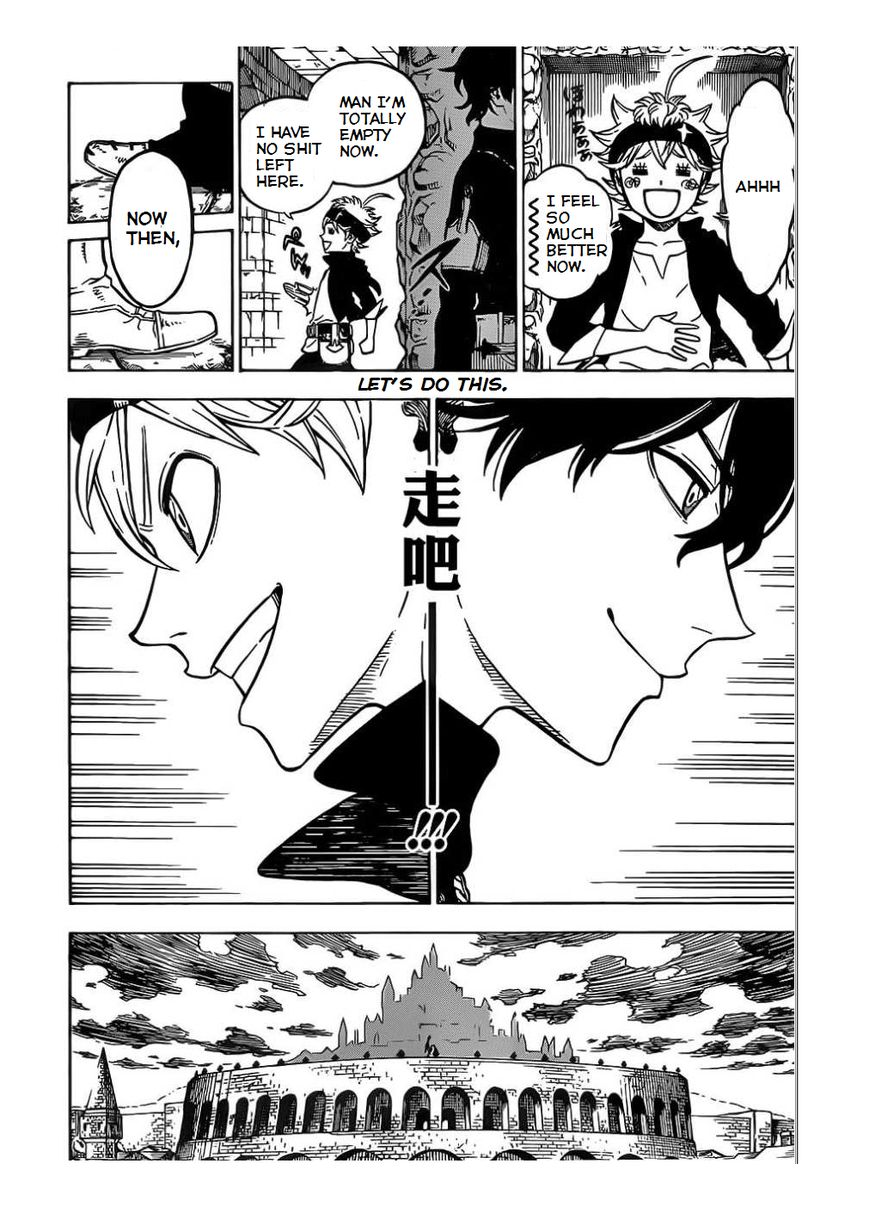 Black Clover, Chapter 3 The Road to the Magic Emperor image 019