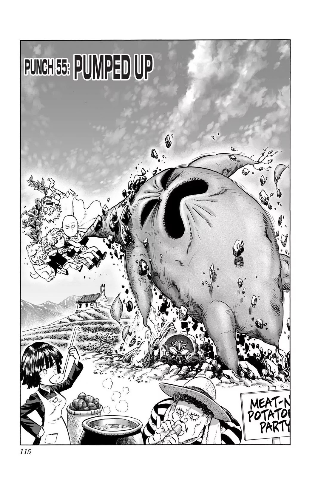 One Punch Man, Chapter Onepunch-Man 55 image 001