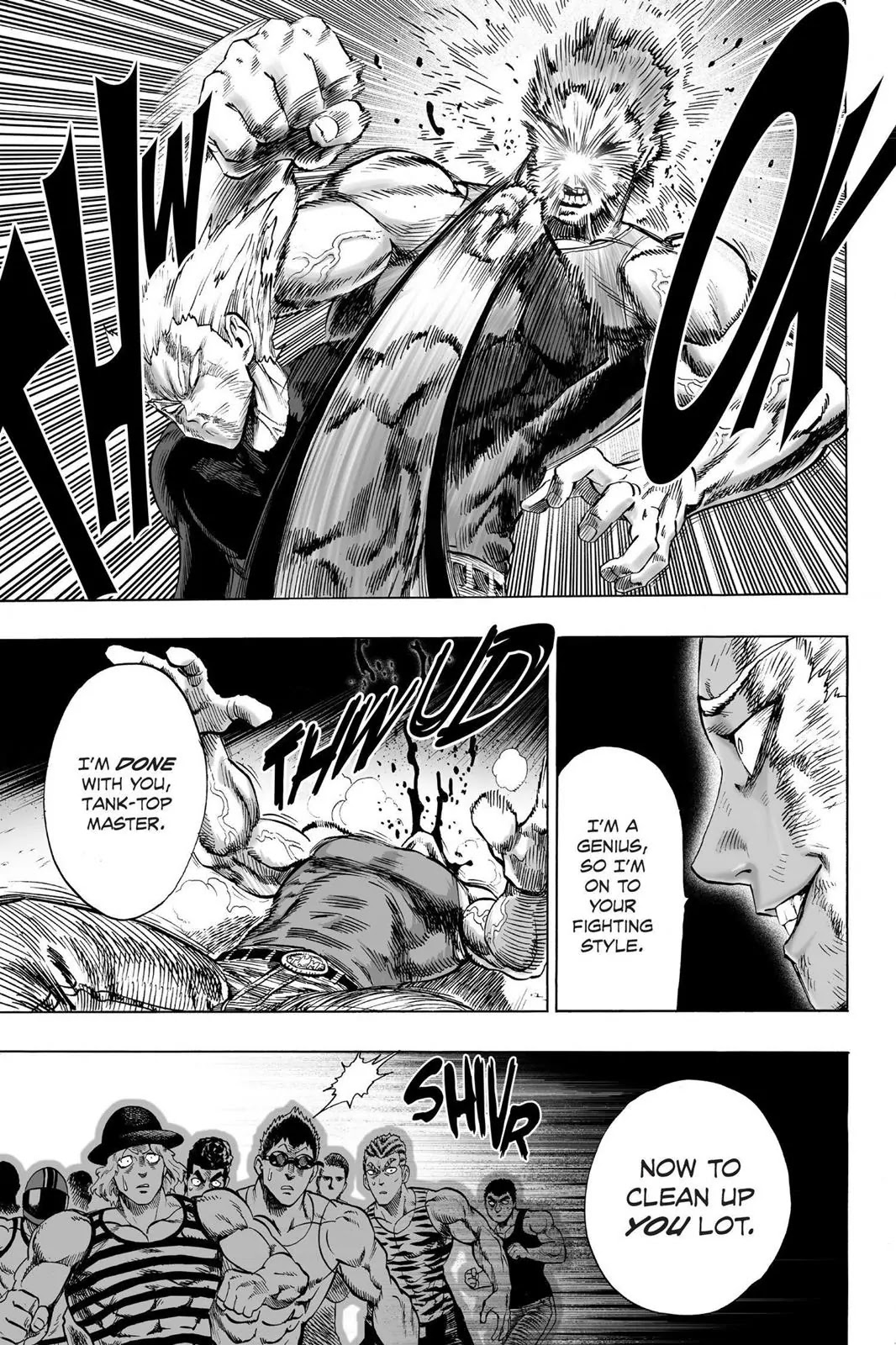 One Punch Man, Chapter Onepunch-Man 47 image 018
