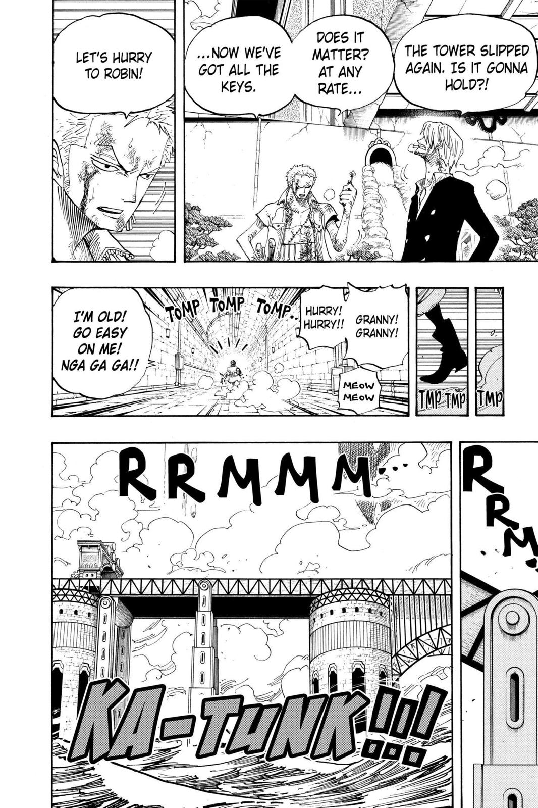 One Piece, Chapter 418 image 006