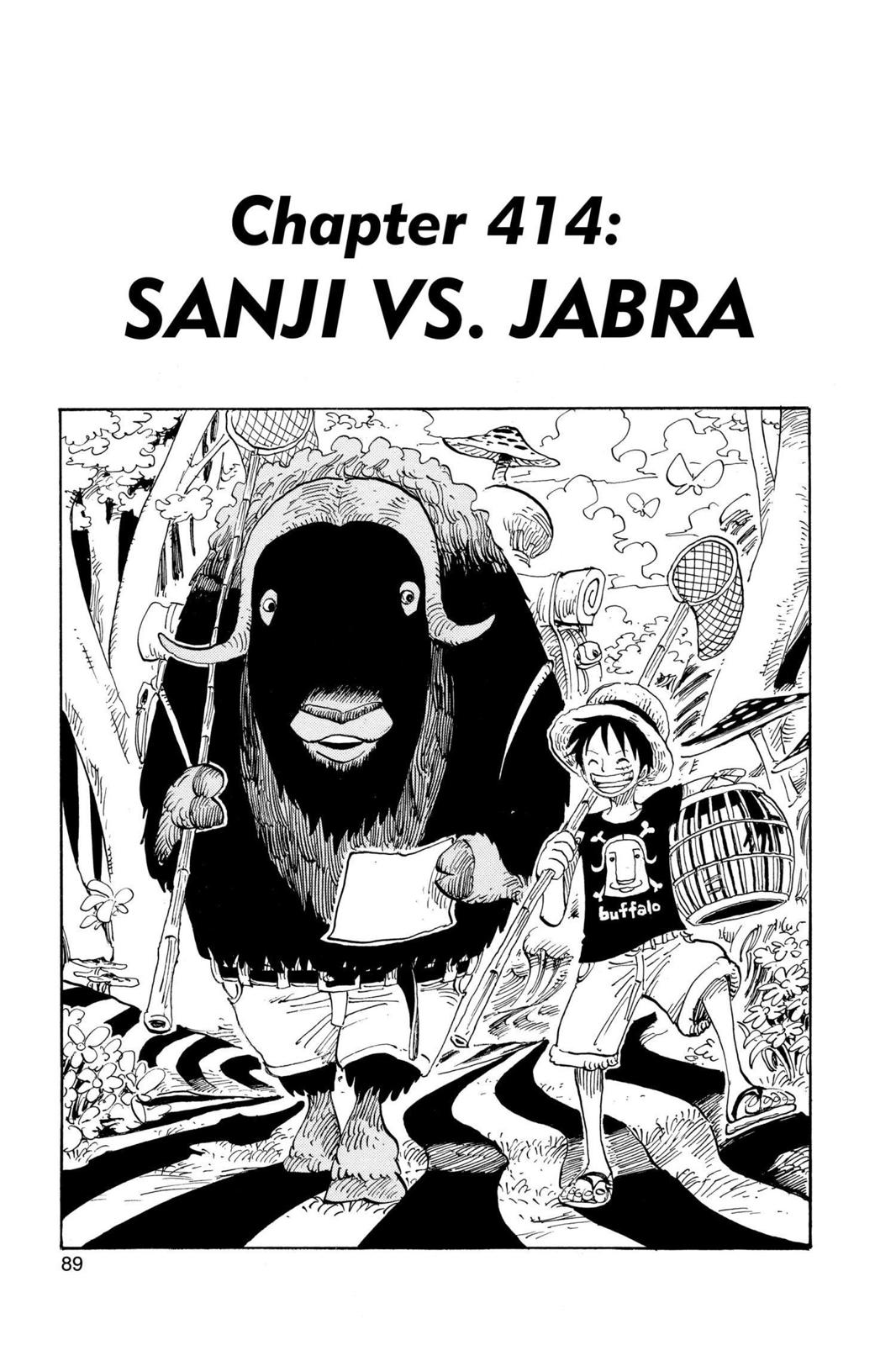 One Piece, Chapter 414 image 001