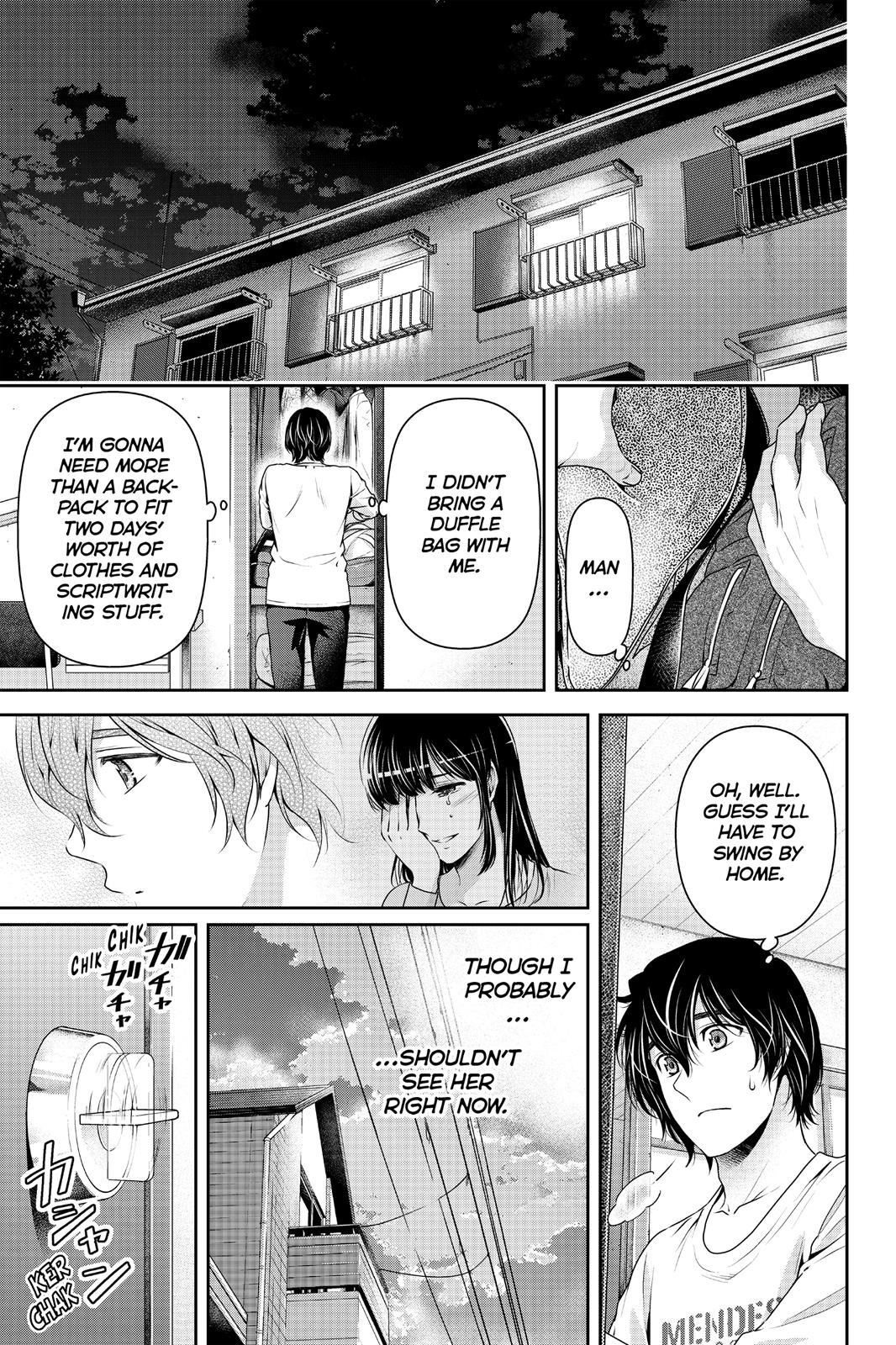 Domestic Na Kanojo, Chapter 148 image 017