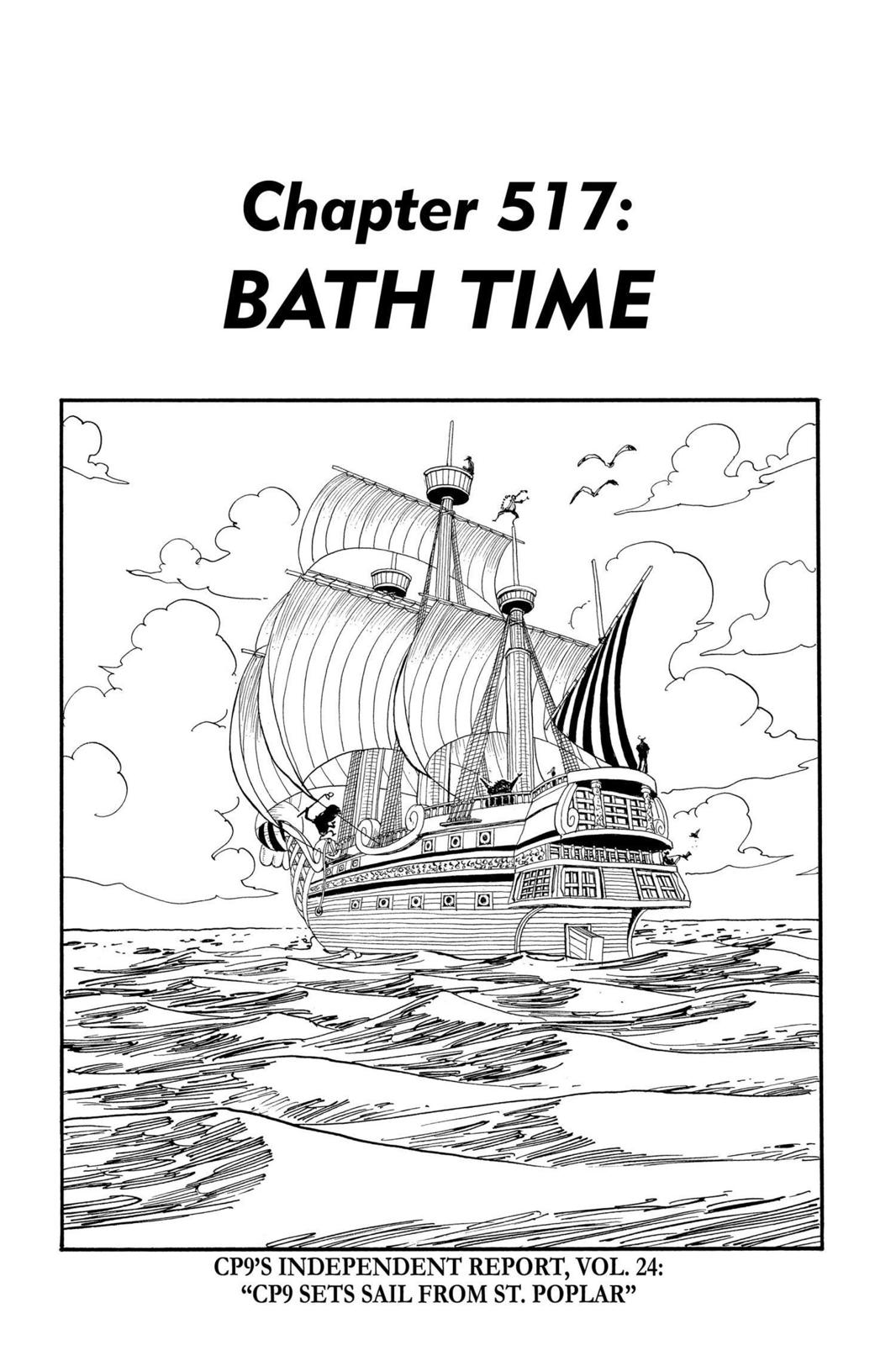 One Piece, Chapter 517 image 001