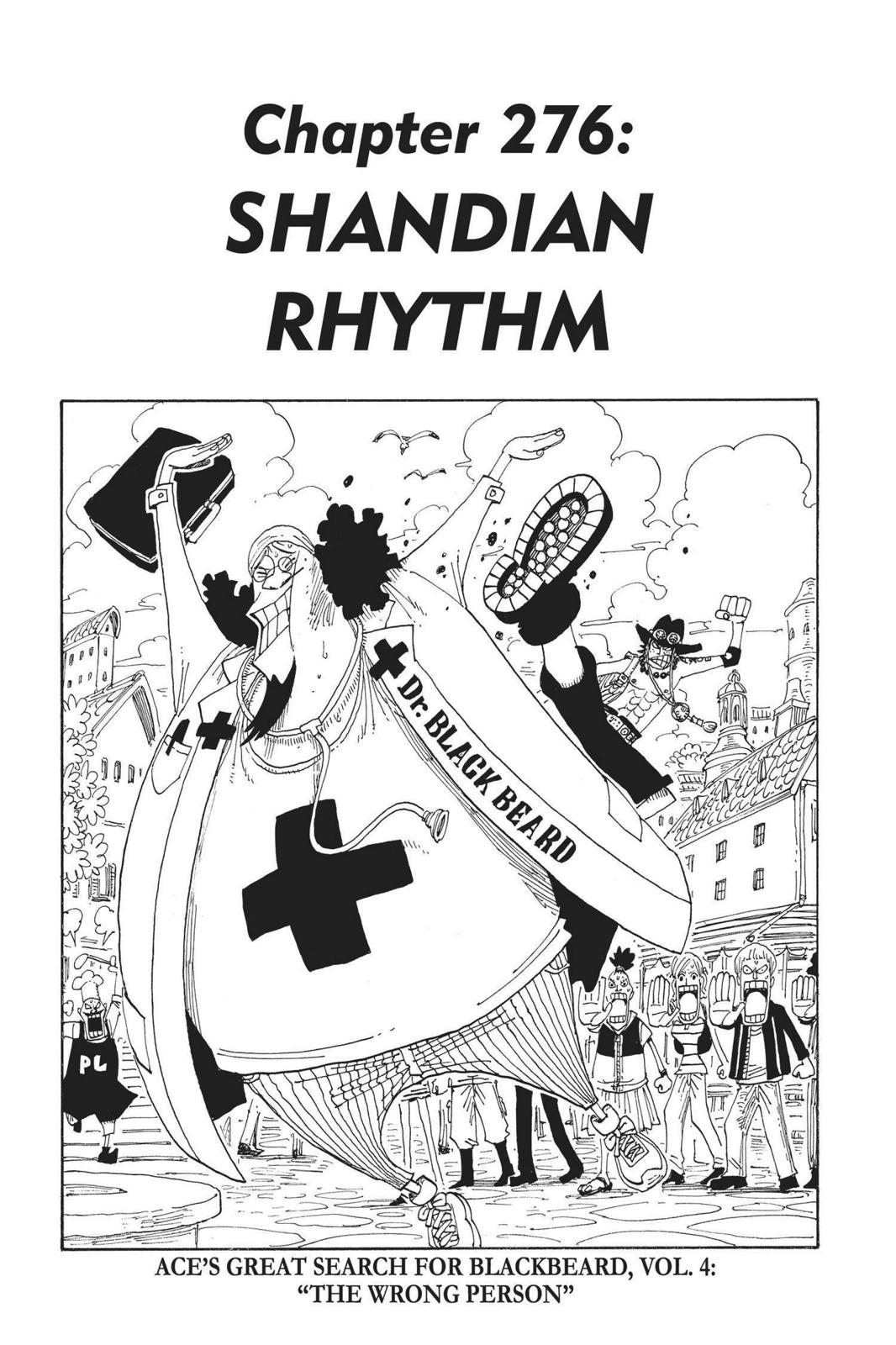 One Piece, Chapter 276 image 007