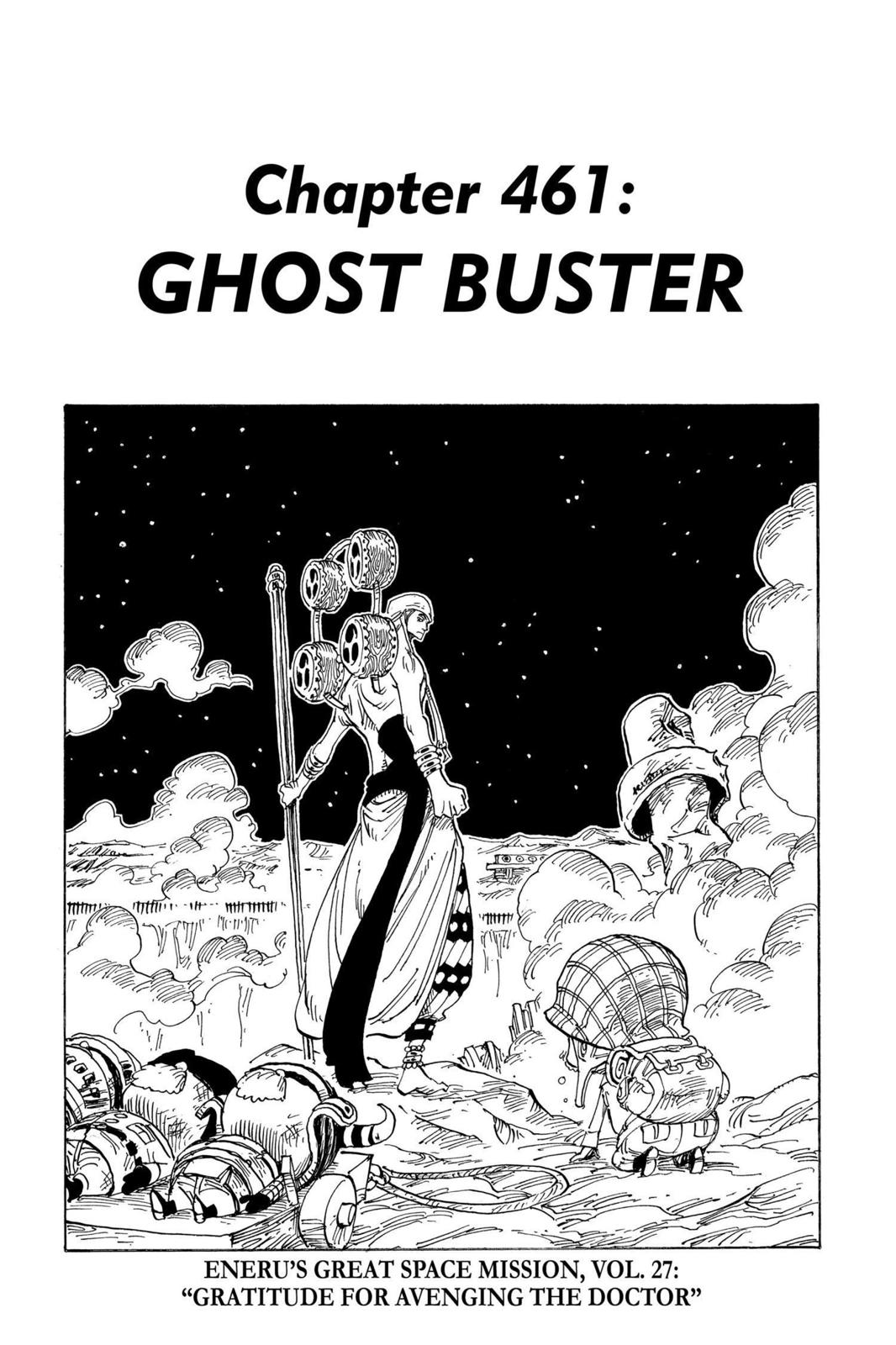 One Piece, Chapter 461 image 001