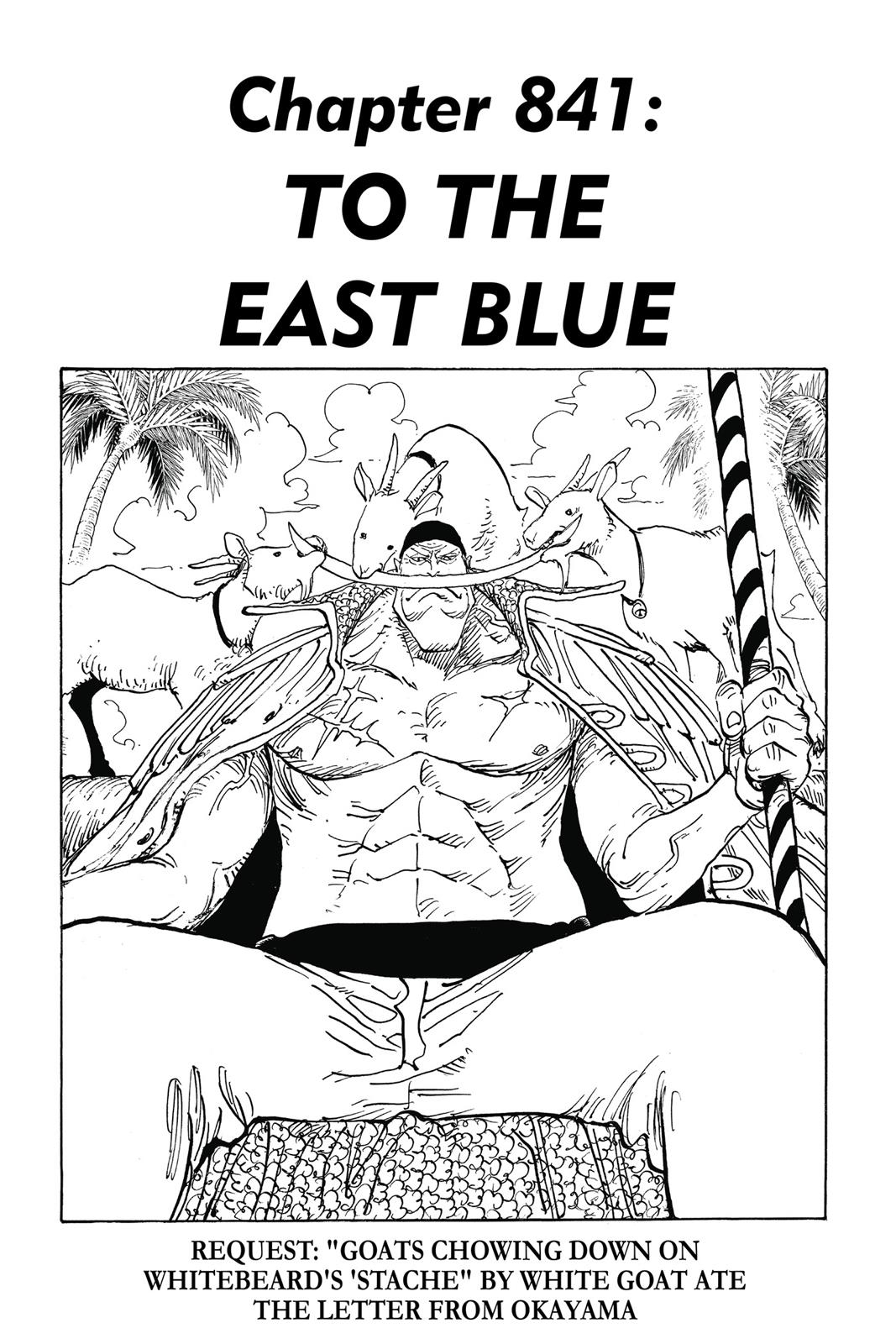 One Piece, Chapter 841 image 001