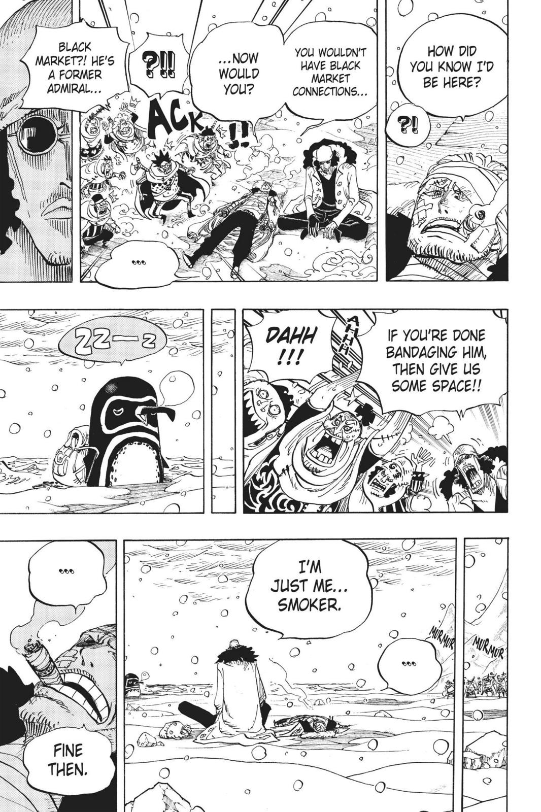 One Piece, Chapter 699 image 009