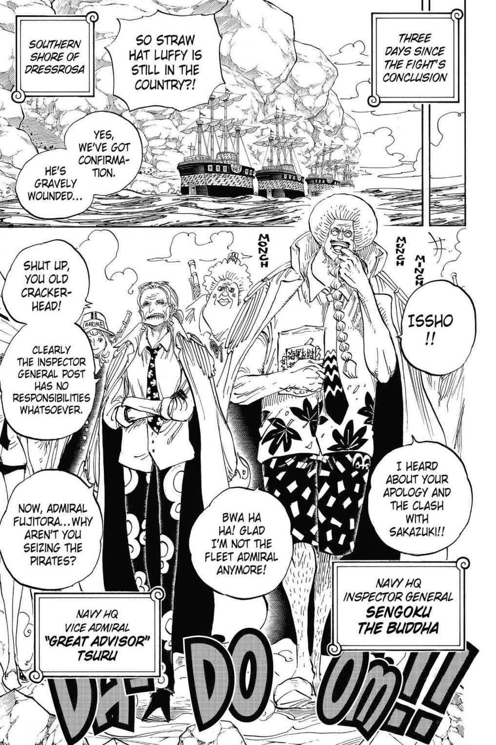 One Piece, Chapter 796 image 010