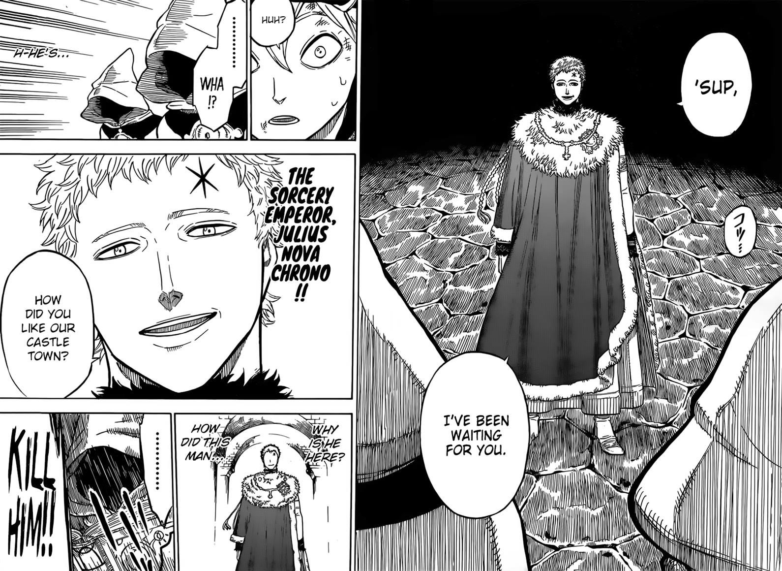 Black Clover, Chapter 35 The Most Powerful Man image 010