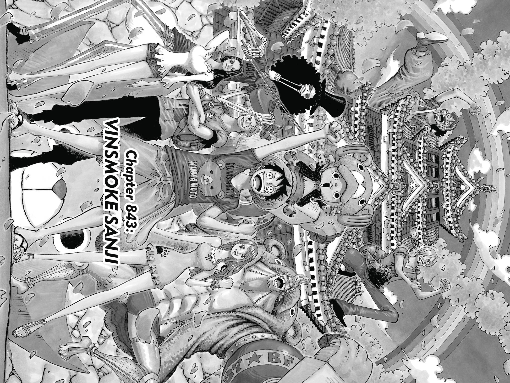 One Piece, Chapter 843 image 001