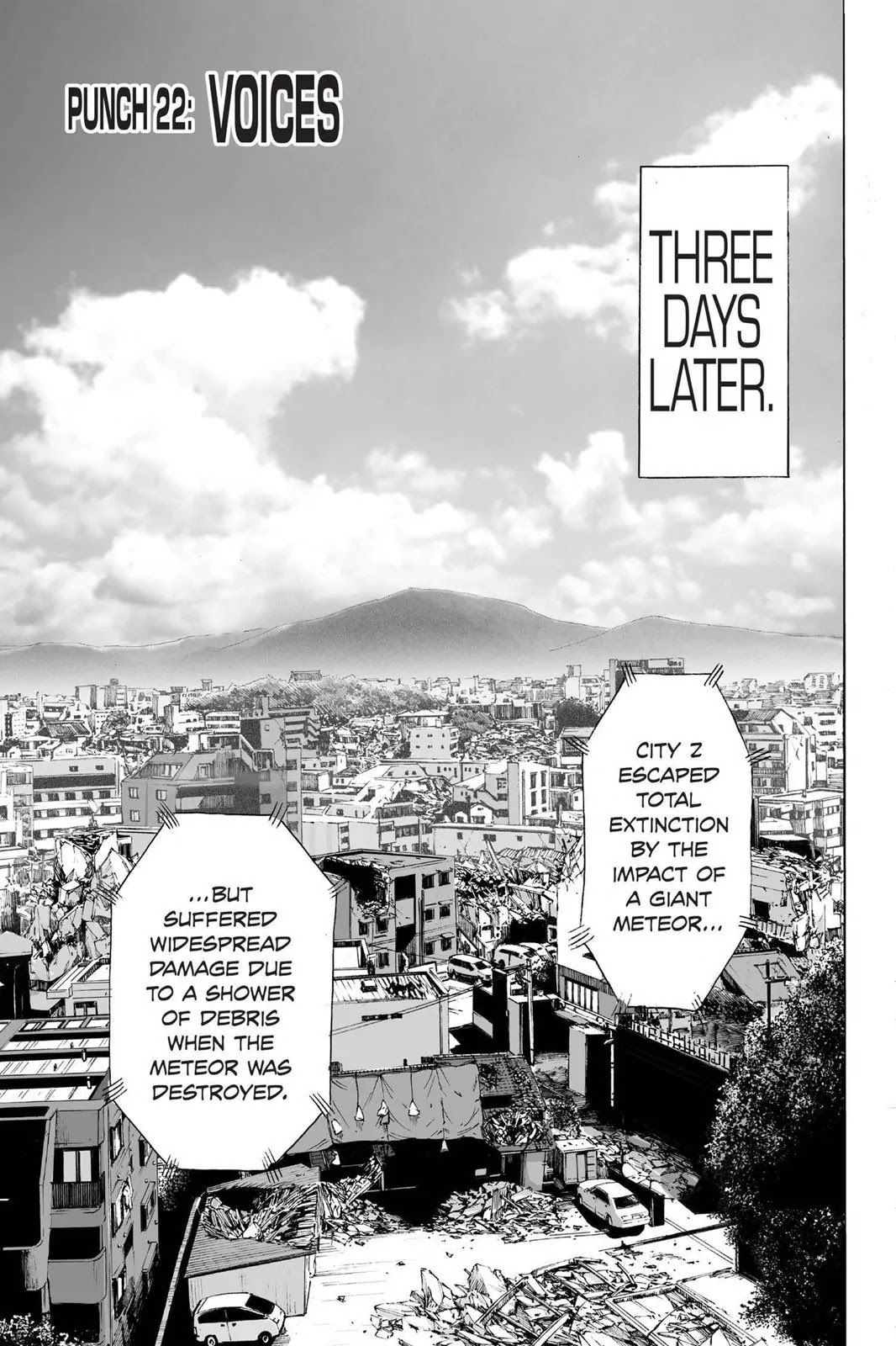 One Punch Man, Chapter Onepunch-Man 22 image 001