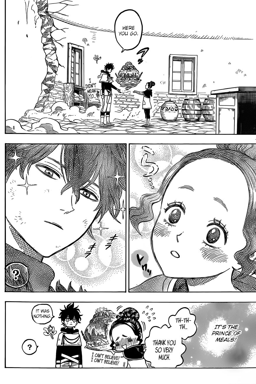 Black Clover, Chapter 30 A New Rival image 010