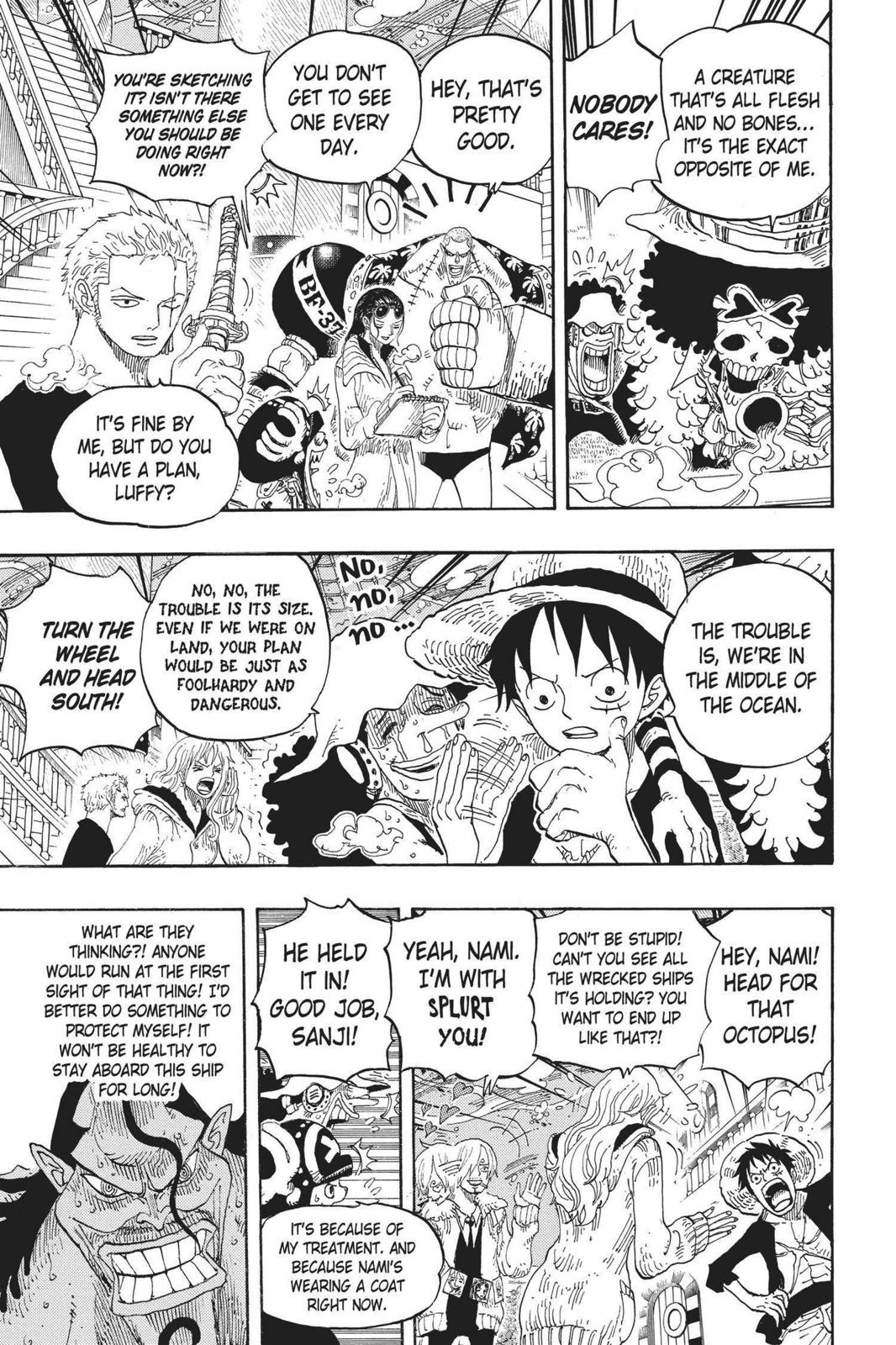One Piece, Chapter 605 image 003