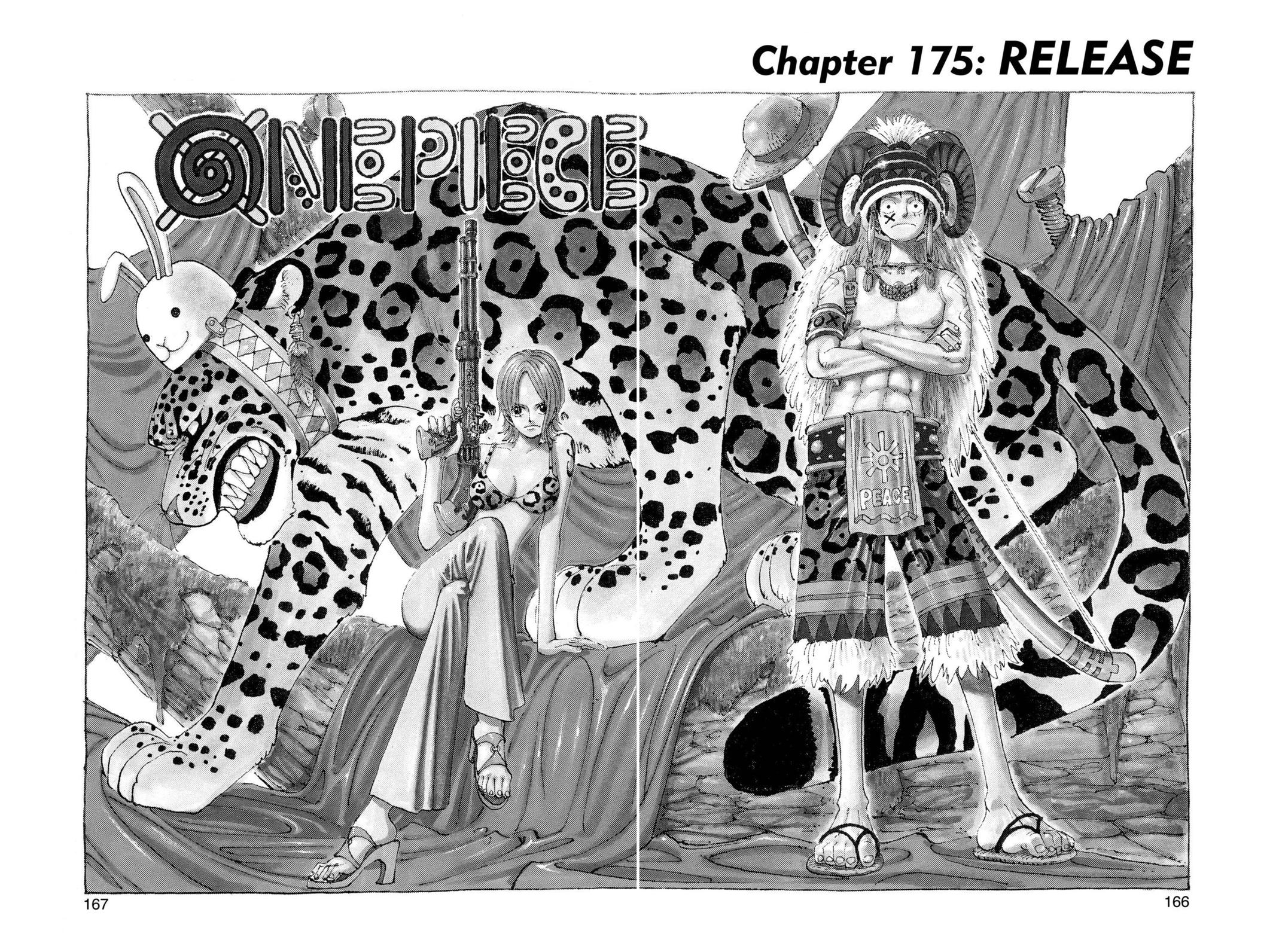 One Piece, Chapter 175 image 001