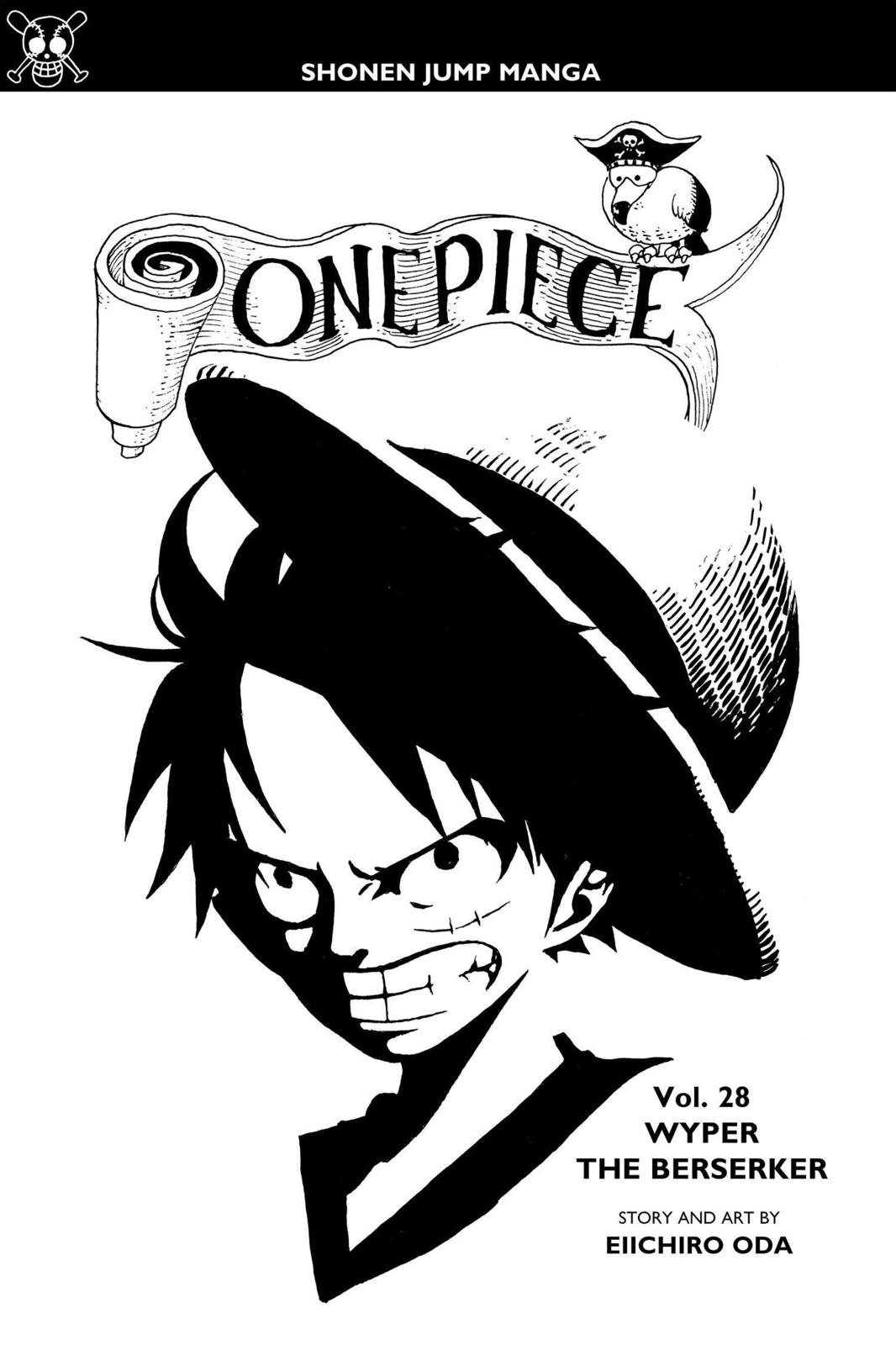 One Piece, Chapter 256 image 004