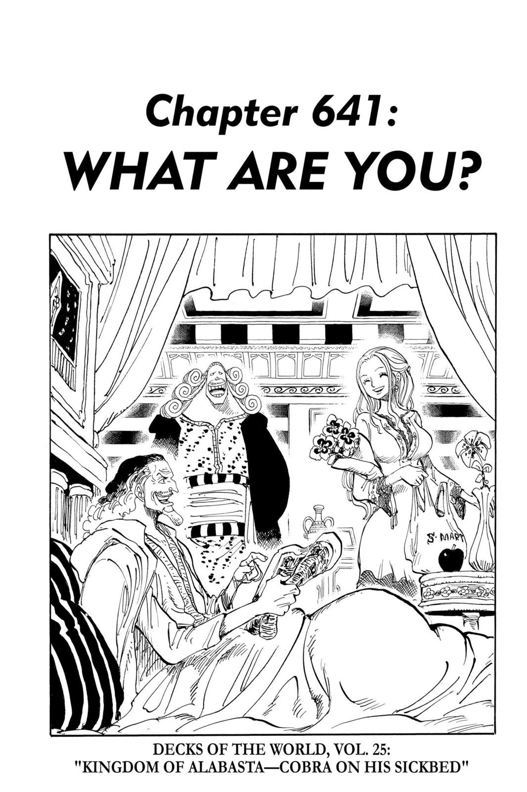One Piece, Chapter 641 image 001