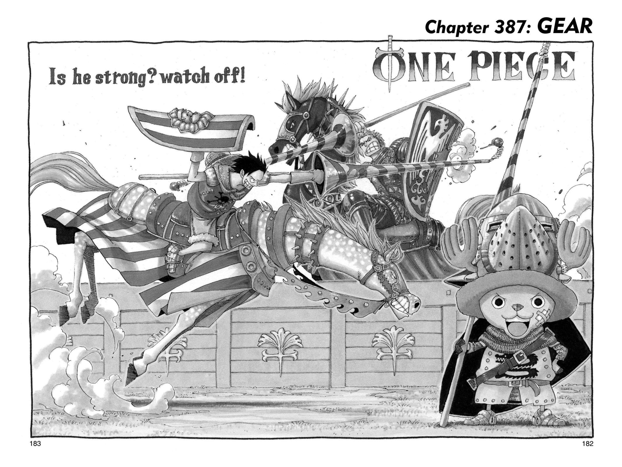 One Piece, Chapter 387 image 001