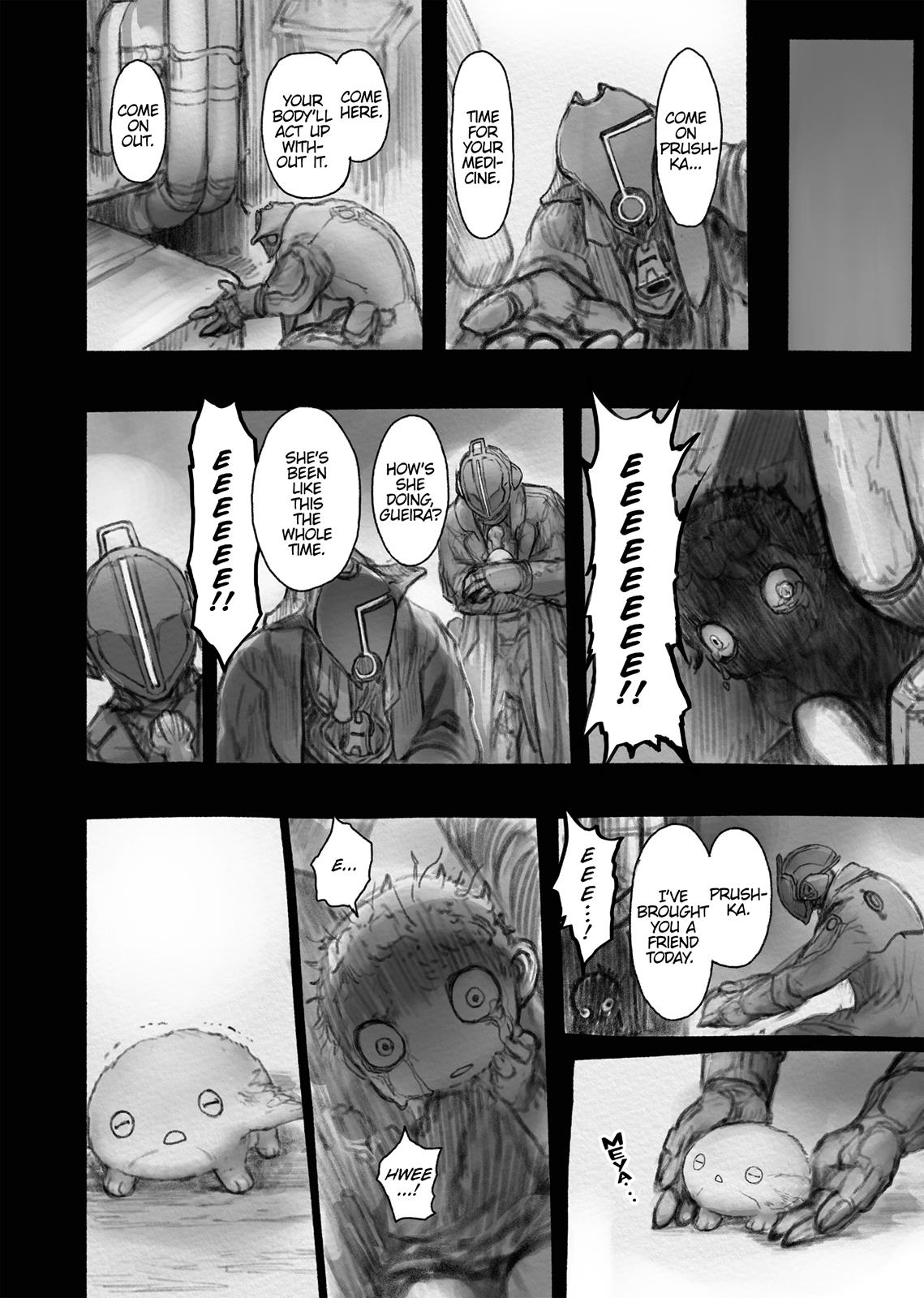 Made In Abyss, Chapter Hello,Abyss 37 image 008