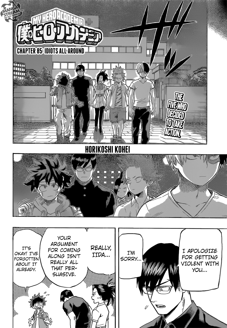 My Hero Academia, Chapter 85 image 003